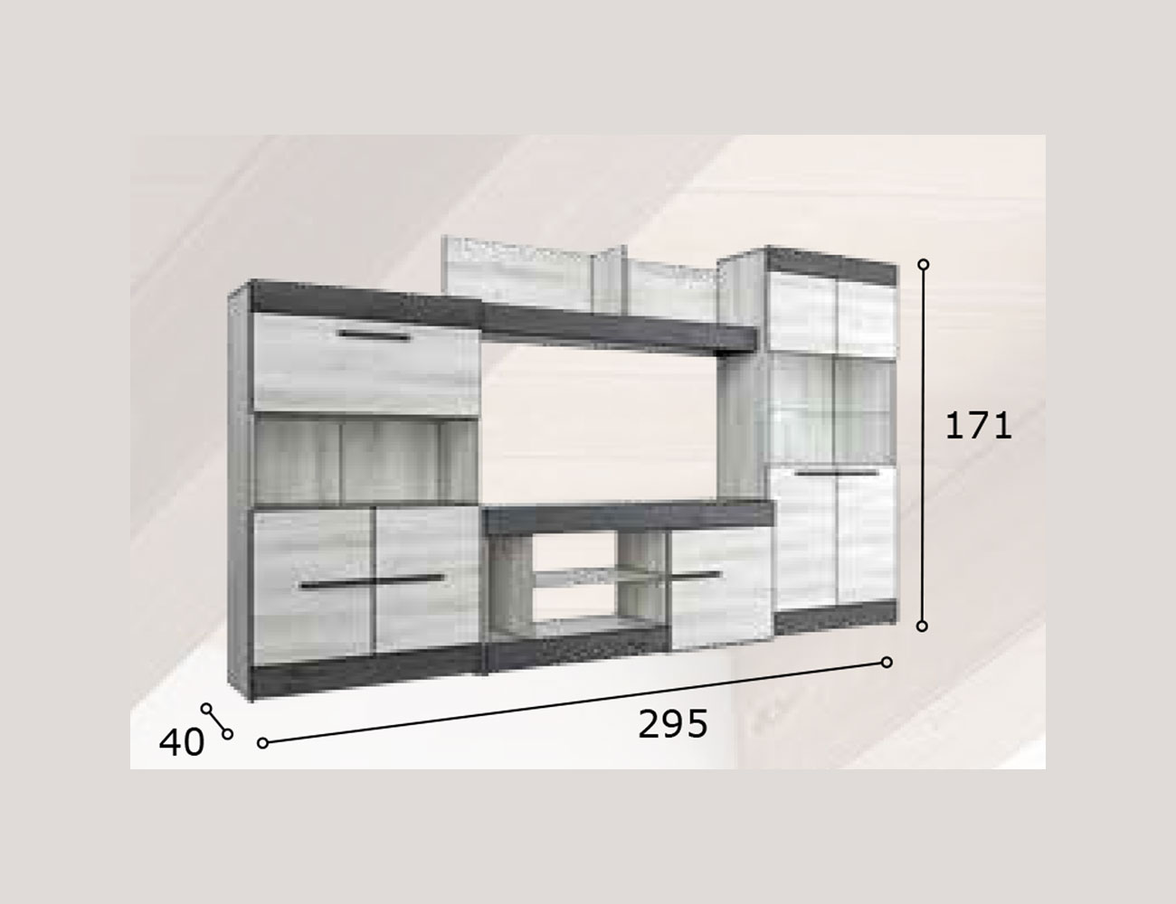Mueble salon moderno 10 1