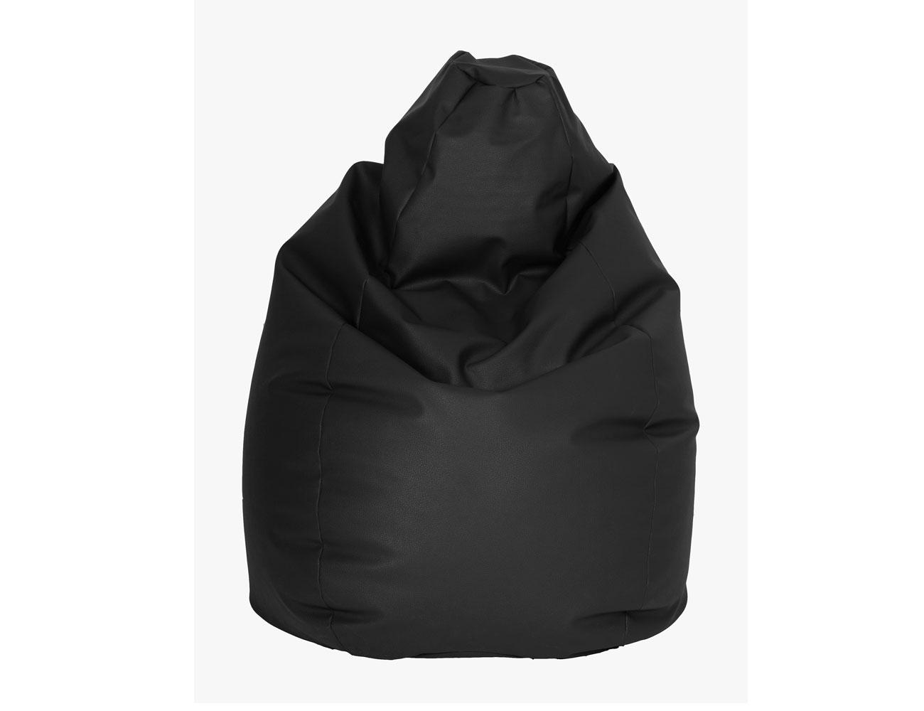 Puff pera negro