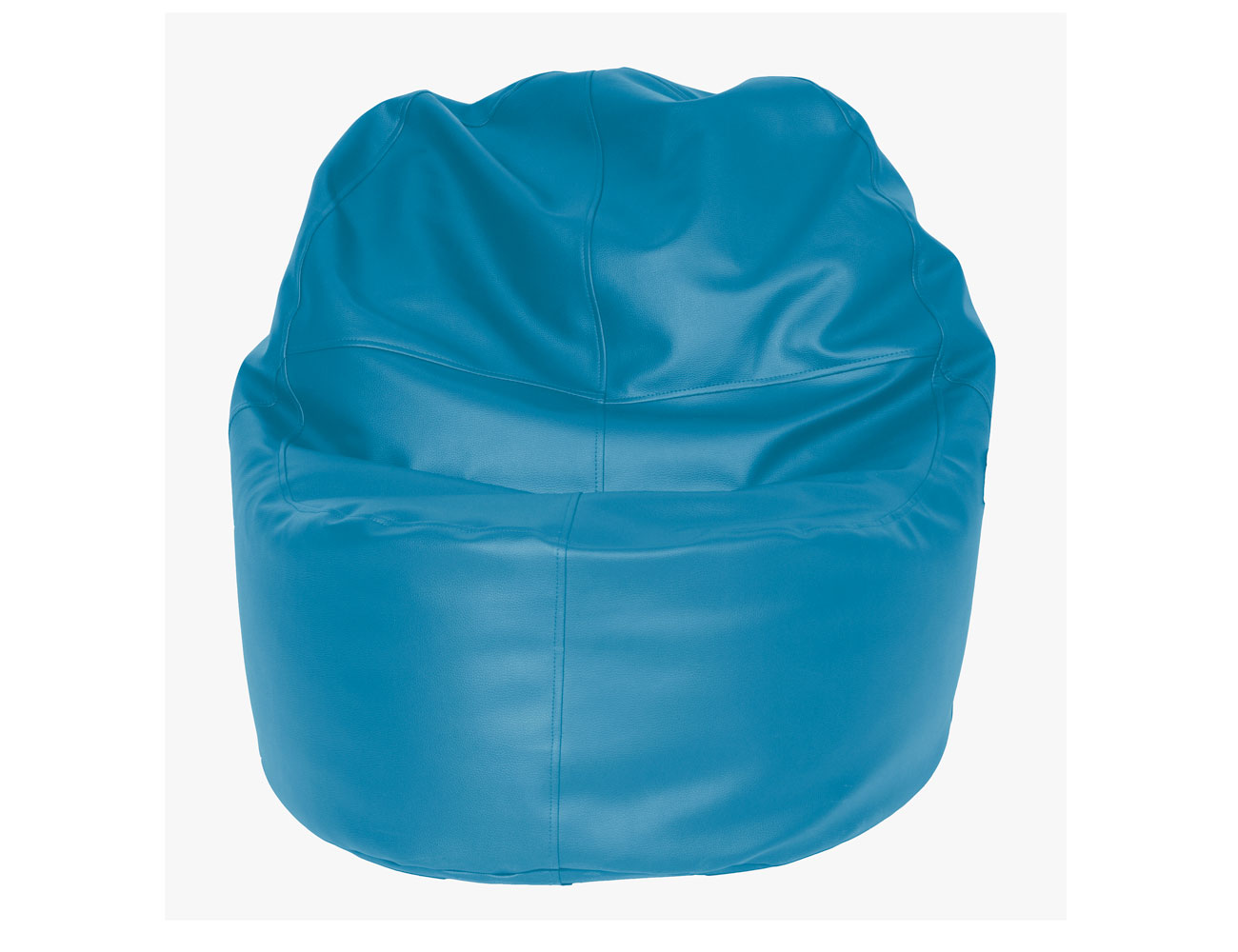 Puff sillon azul