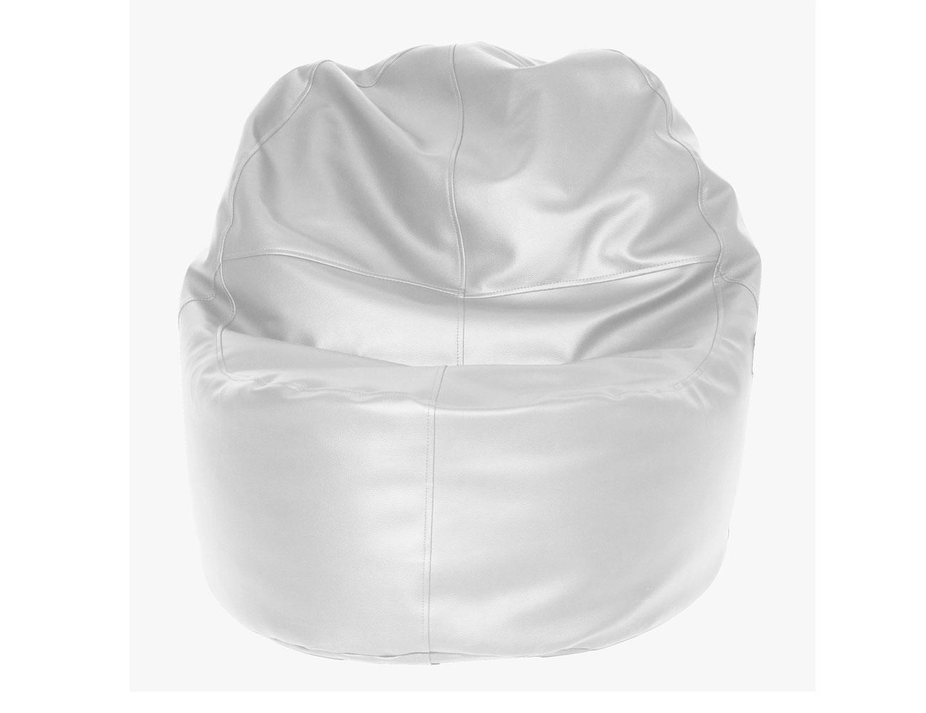 Puff sillon blanco