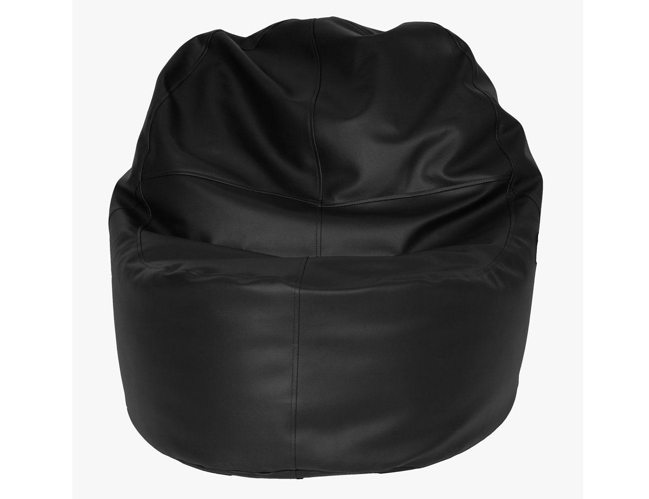 Puff sillon negro