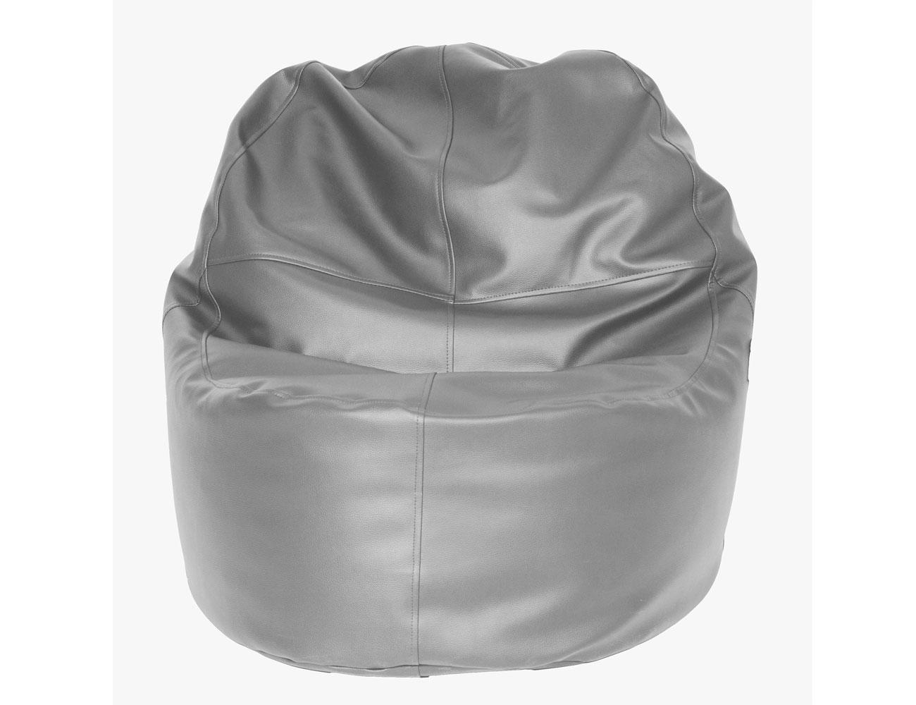 Puff sillon plata
