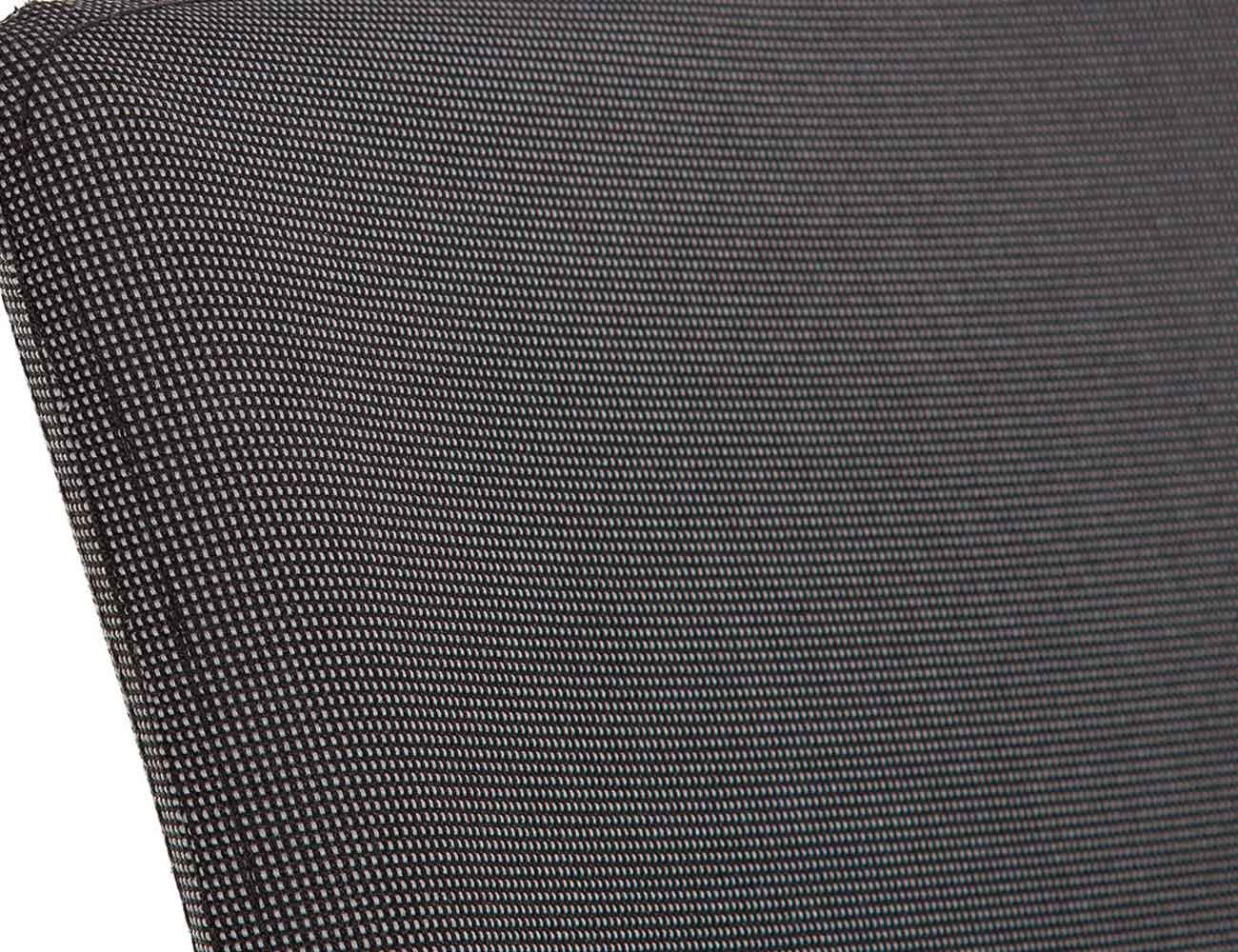 Silla apilable tapizada tela 2