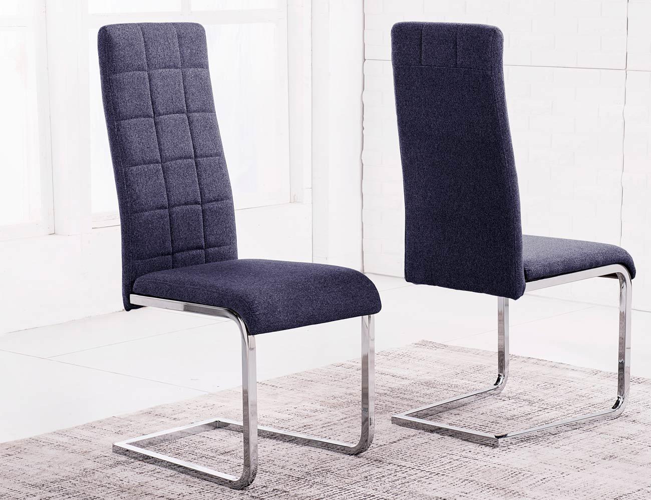 Pack de sillas con sistema amortiguaci n y respaldo alto - Puf con respaldo ...