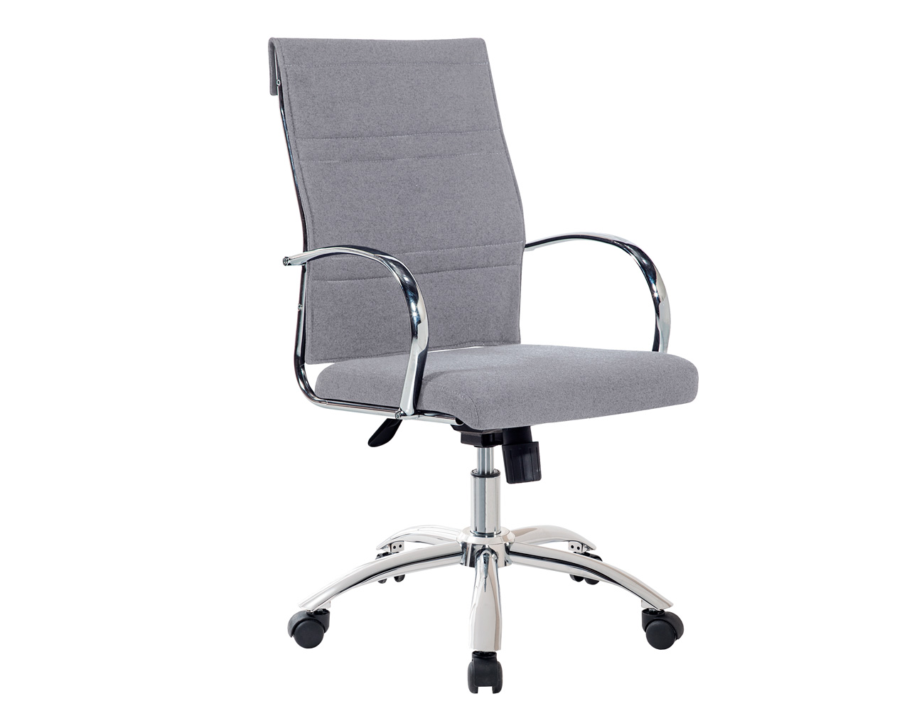 Silla oficina o despacho con apoya brazos con ruedas y regulable en ...