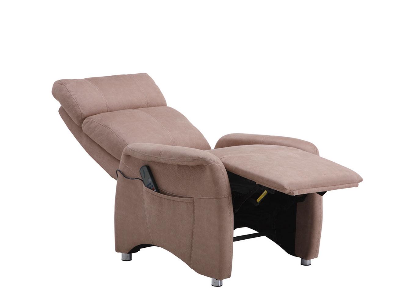 Sillon relax masaje vibracion camel 2