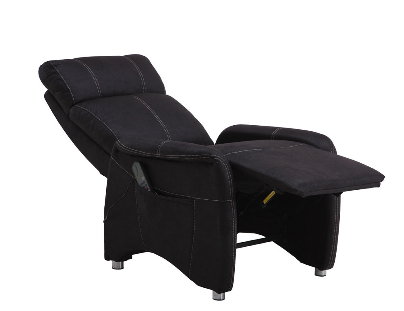 Sillon relax masaje vibracion negro 2