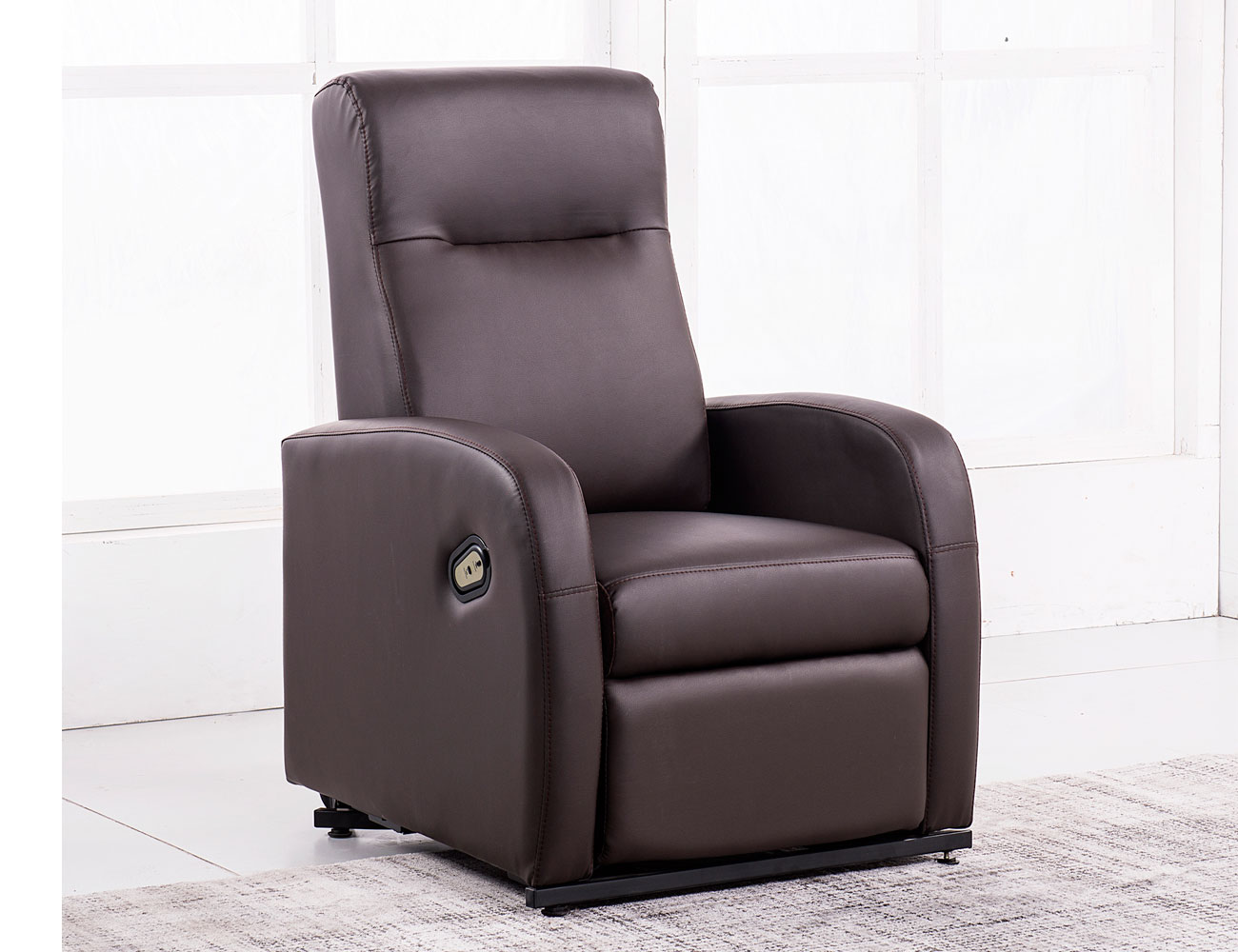 Sillon relax palanca chocolate 3