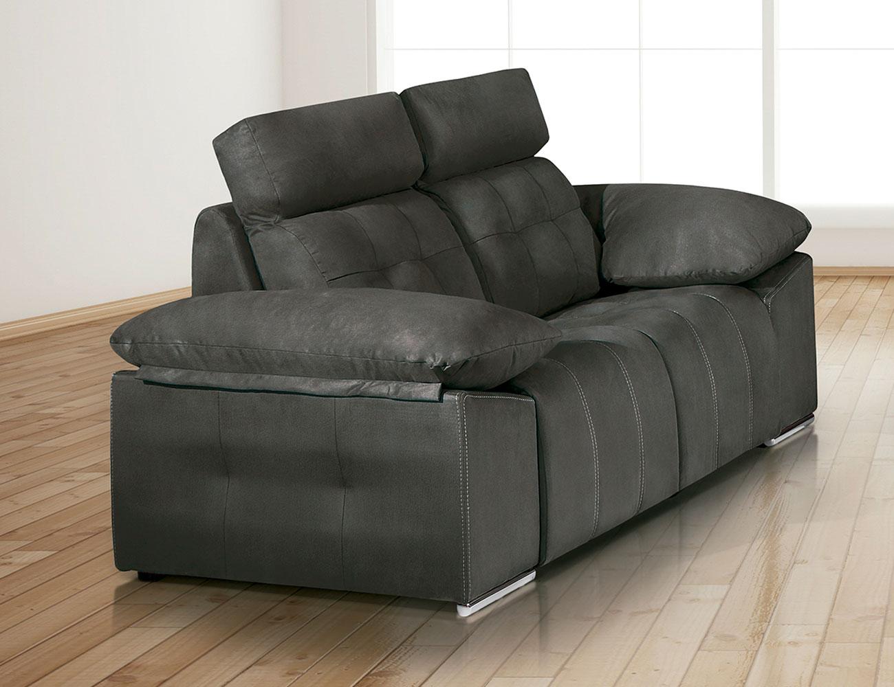 Sofa 2 plazas asientos capitone 180cm