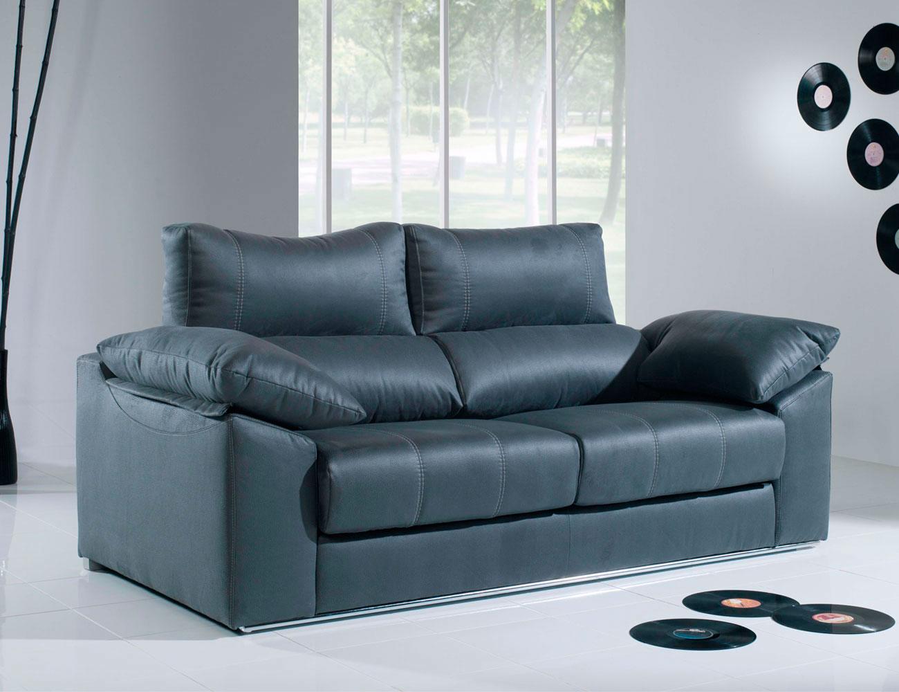 Sofa 3 plazas anti manchas asientos extraibles