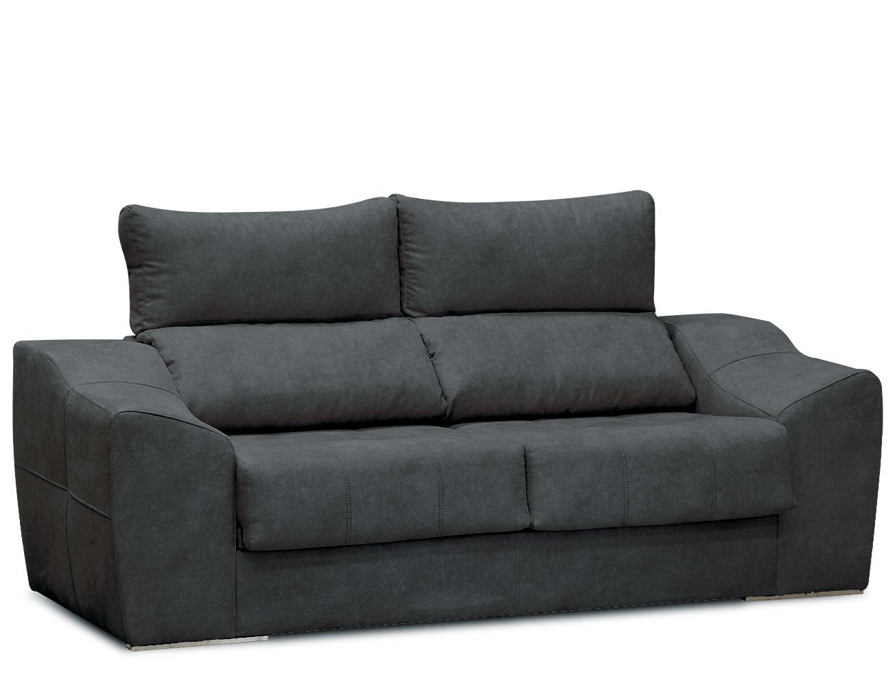 Sofa 3 plazas asientos delizantes calidad allegra21 11