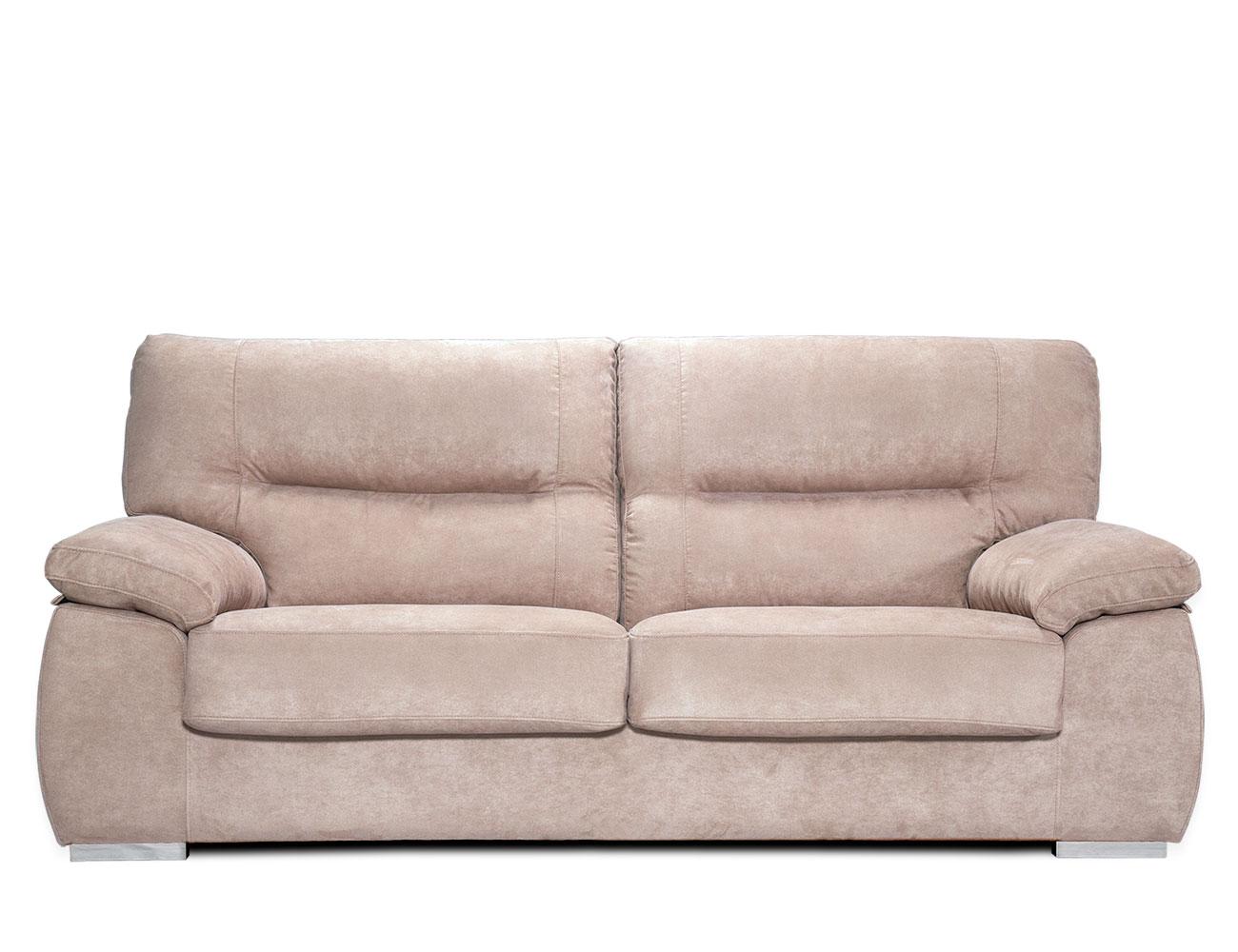 Sofa 3 plazas beige