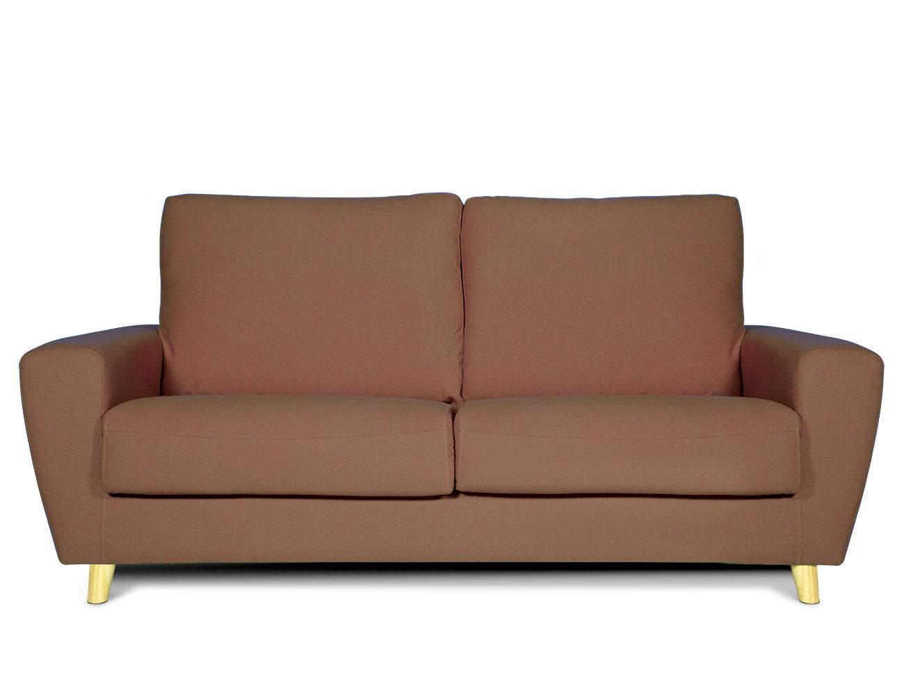 Sofa 3 plazas moderno chocolate