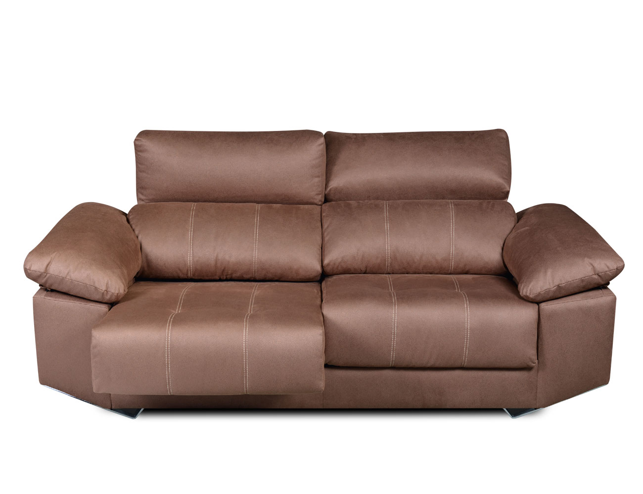 Sofa 3 plazas moderno tejido anti manchas 21