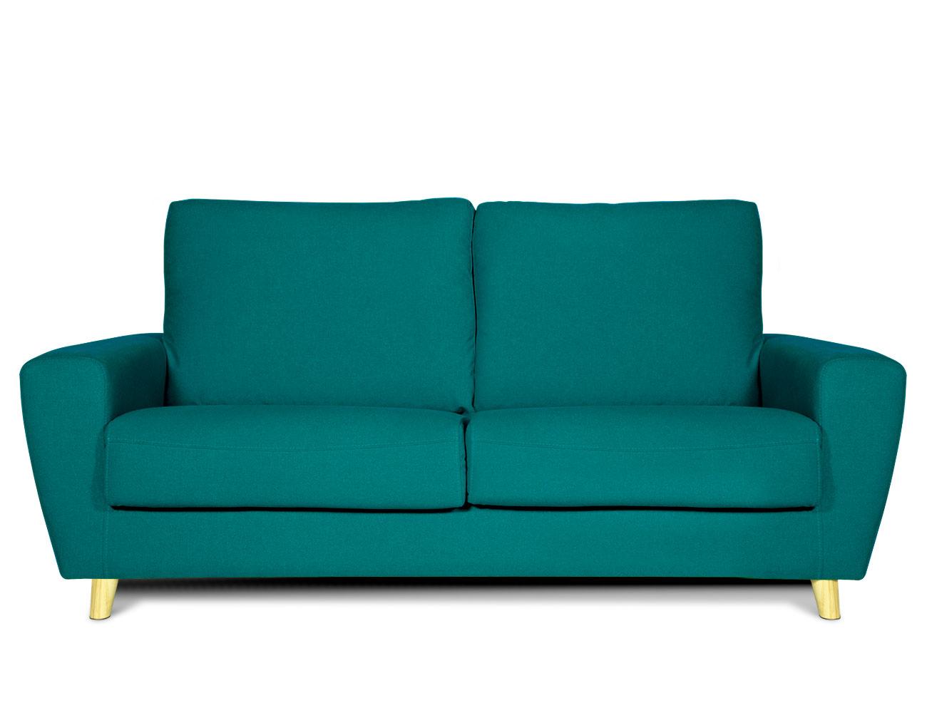 Sofa 3 plazas moderno verde