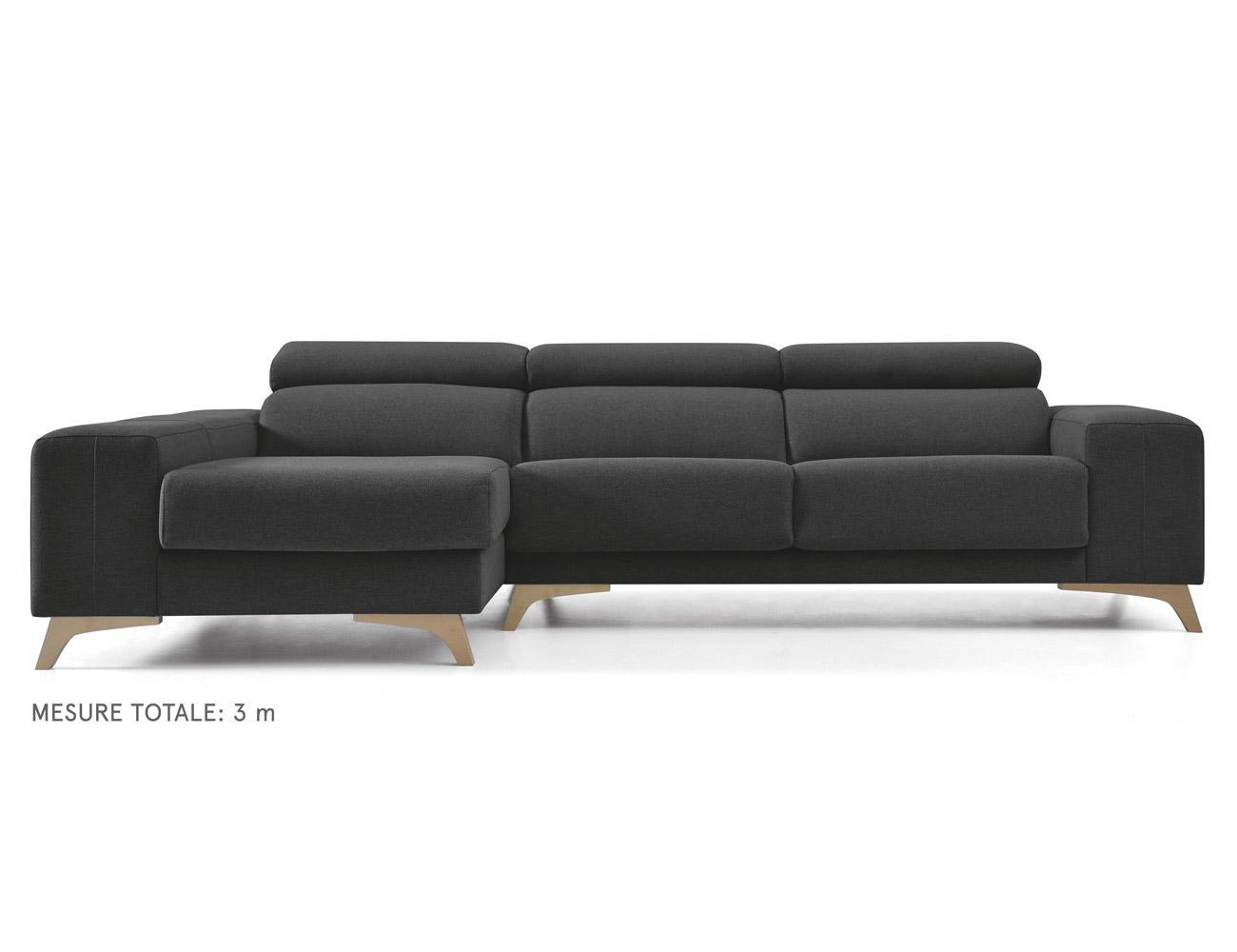 Sofa areca negro