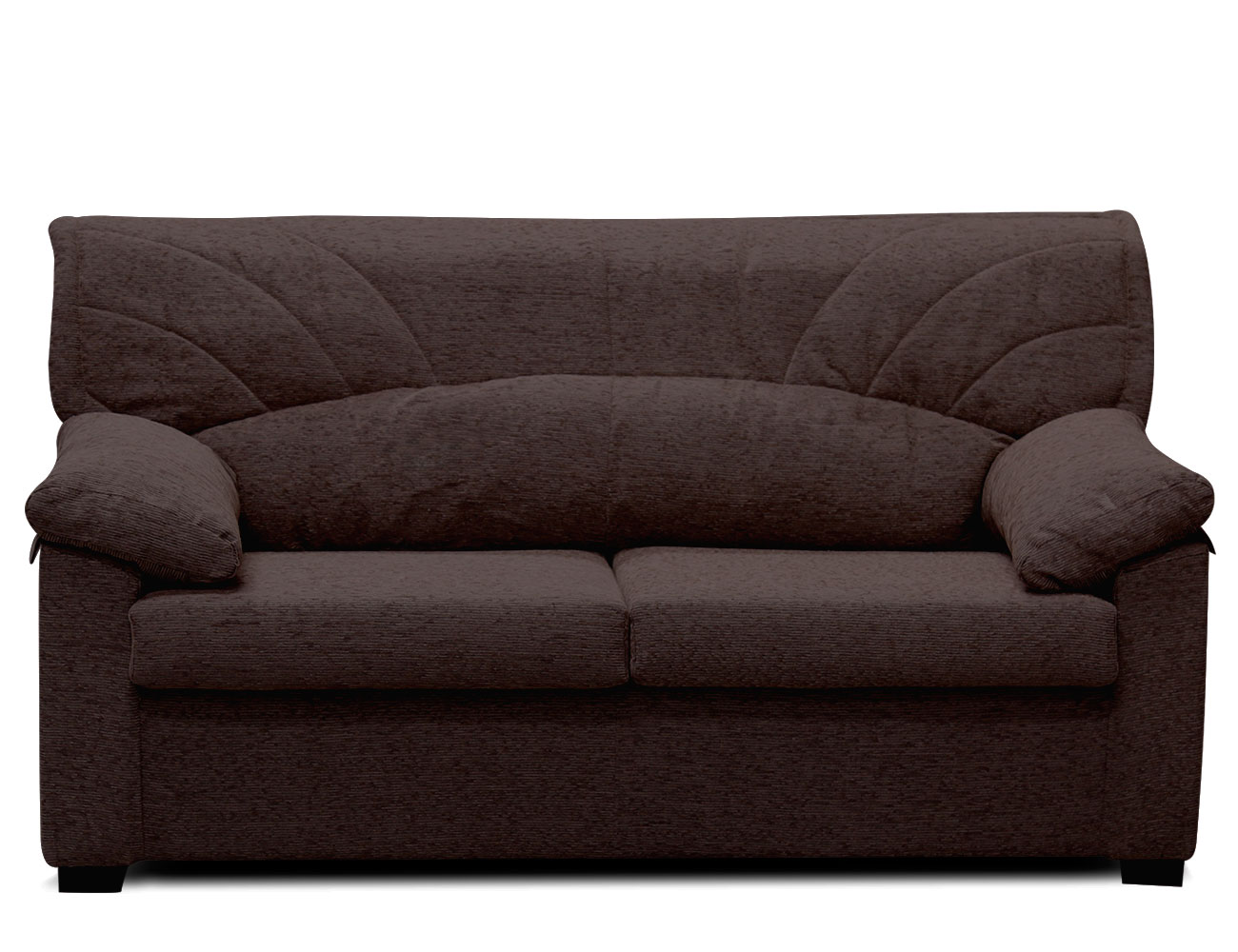 Sof barato con respaldos medios 15204 factory del for Medidas sofa 3 plazas