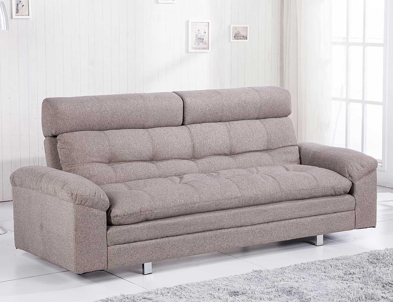 Sofa cama chaiselongue elegance moka 2
