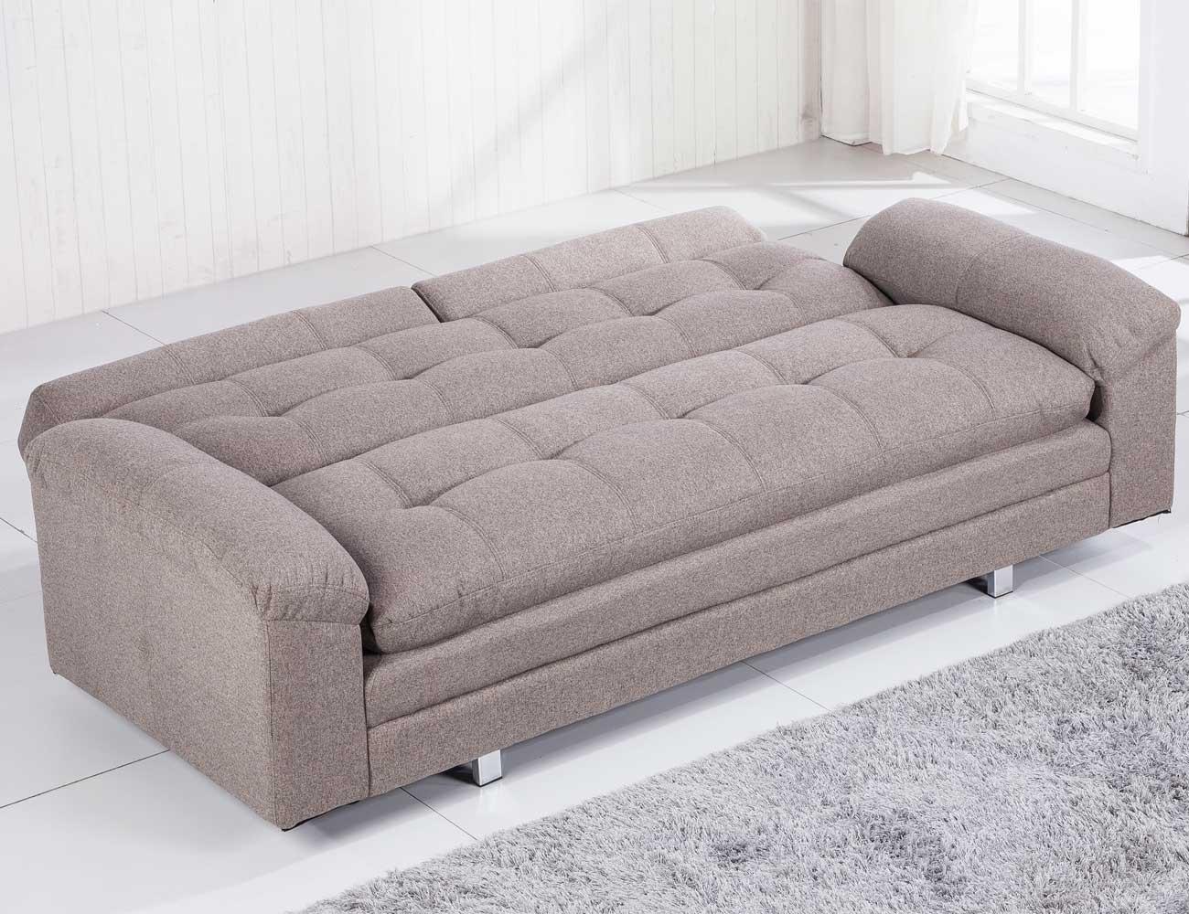 Sofa cama chaiselongue elegance moka 3