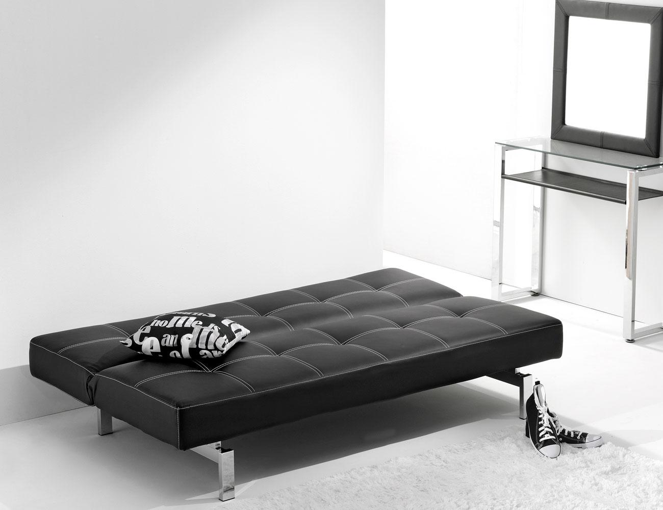 Sofa cama click clak negro