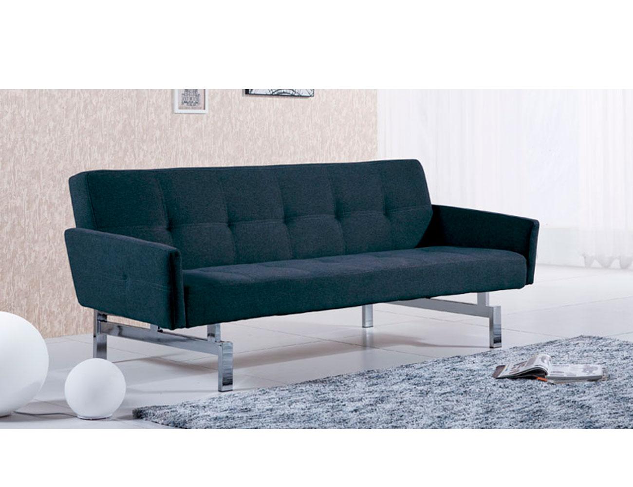Sofa cama con brazos elegance marengo