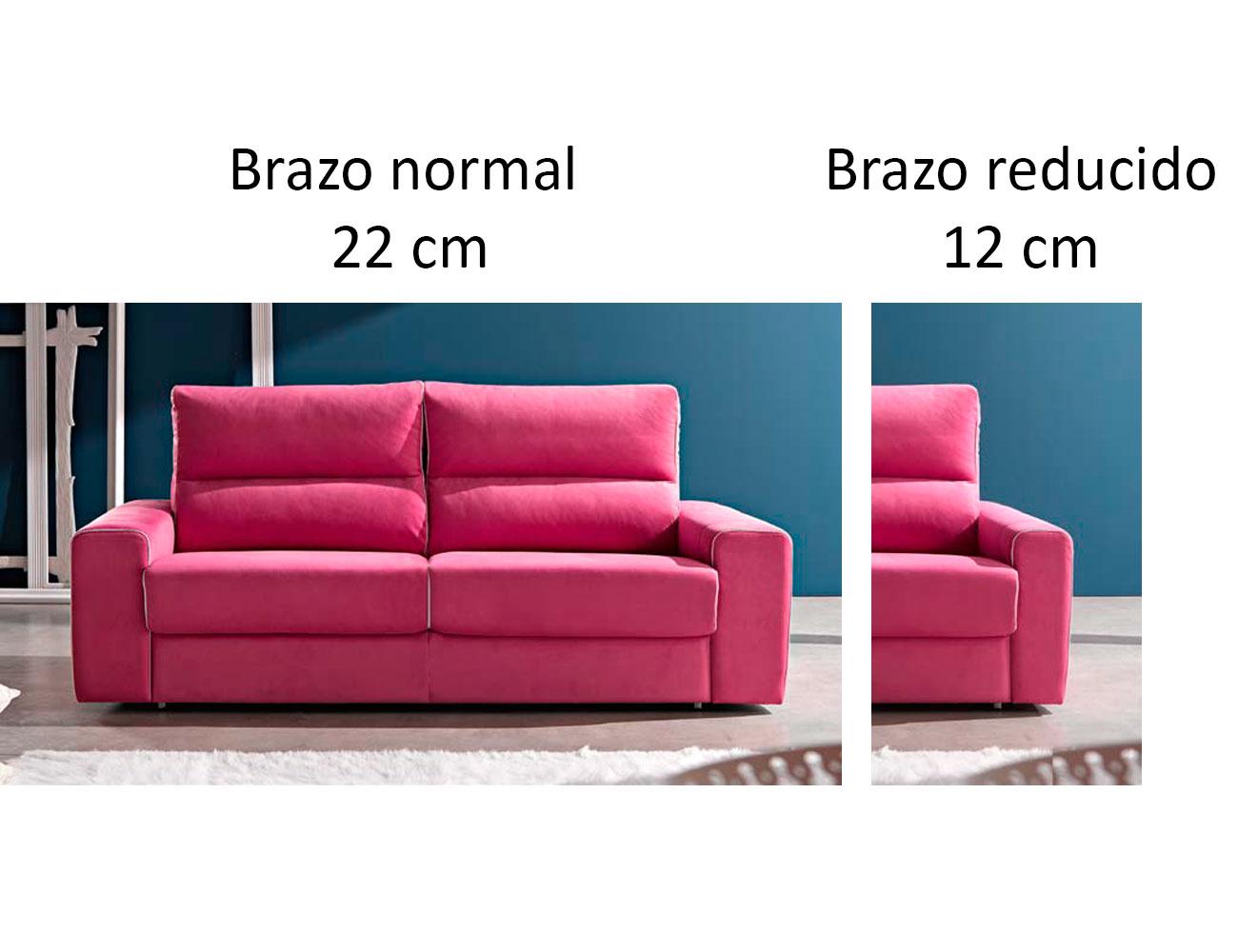 Sofa cama pedro ortiz apertura italiano brazo reducido