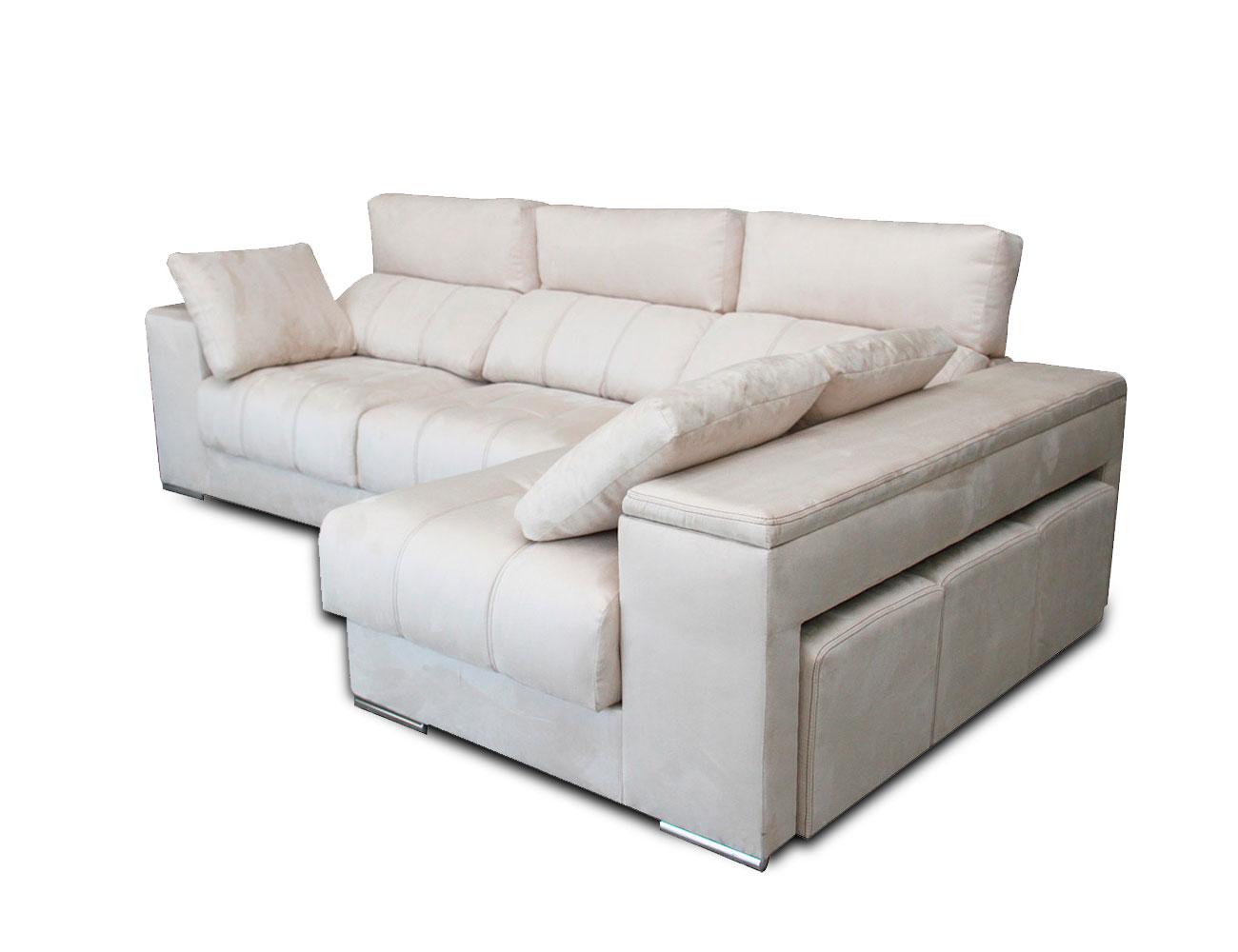 Sofa chaiselongue 3 taburetes arcon 2