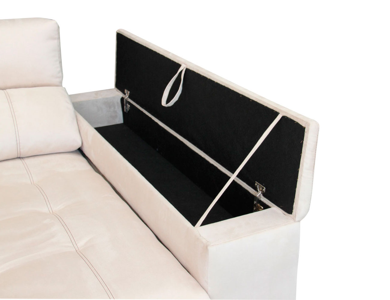 Sofa chaiselongue 3 taburetes arcon 3