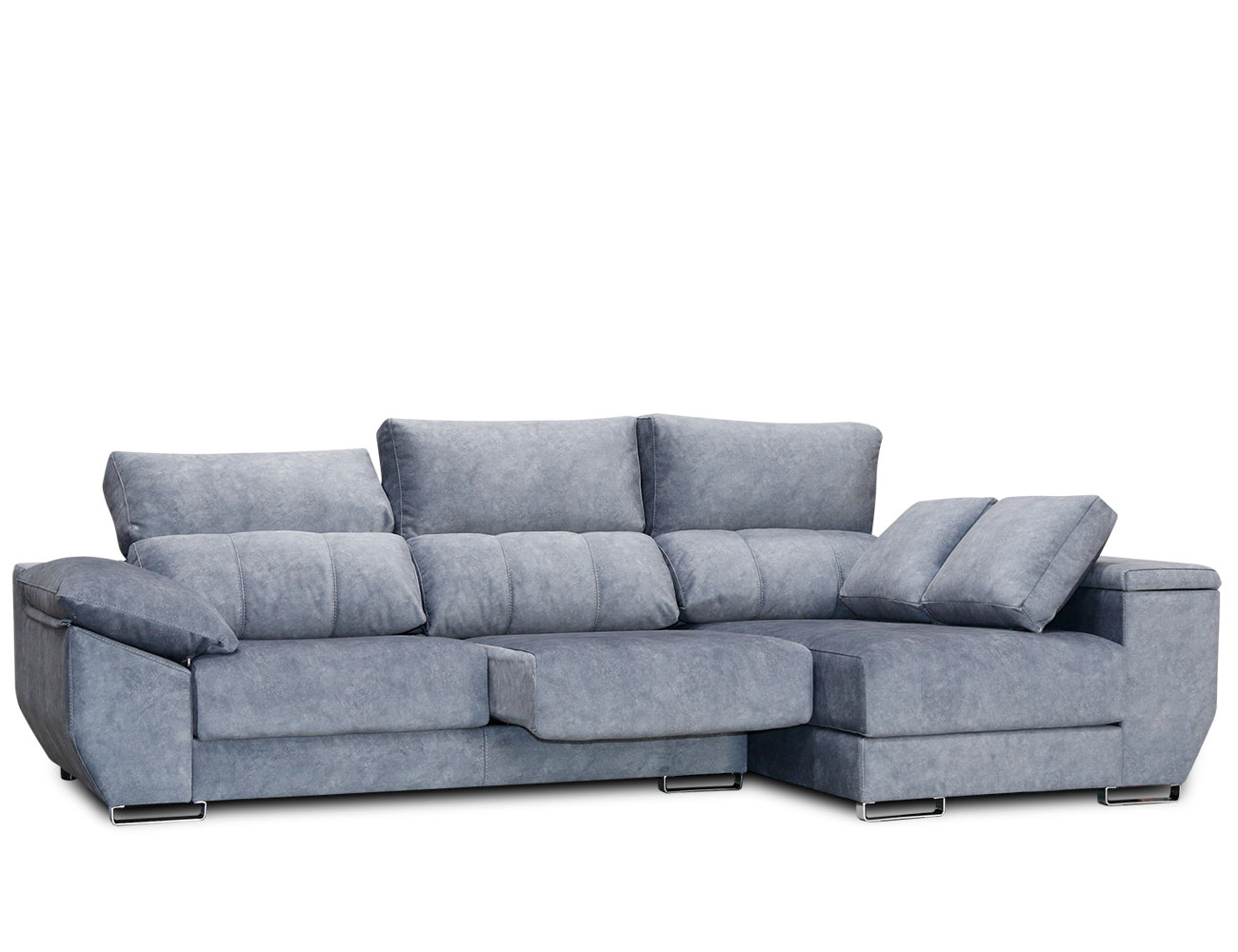Sofa chaiselongue anti manchas gama alta