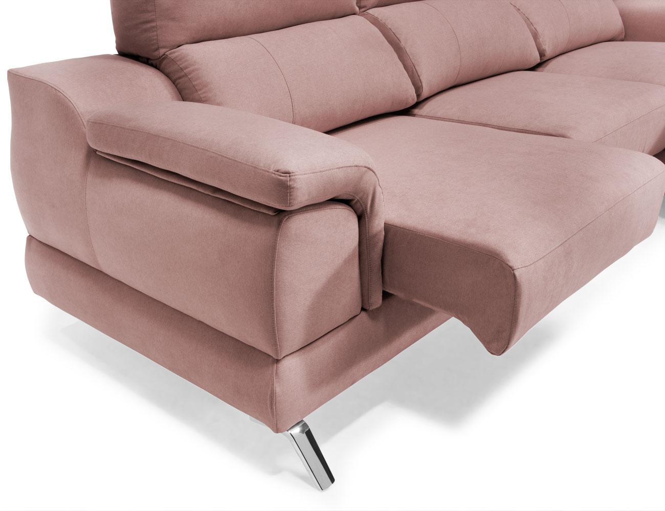 Sofa chaiselongue baku detalle