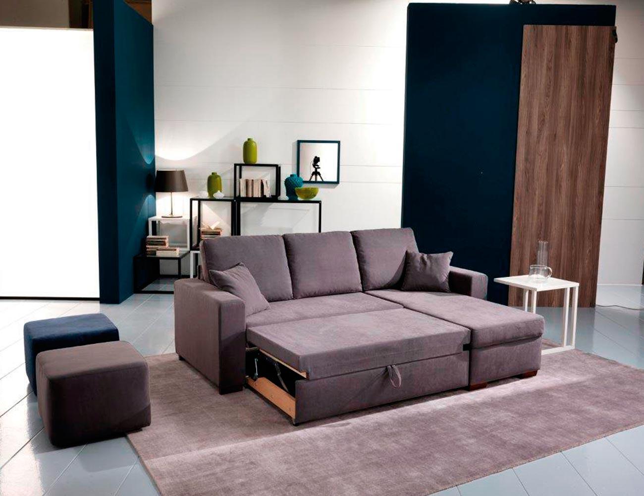 Sofa chaiselongue cama 2