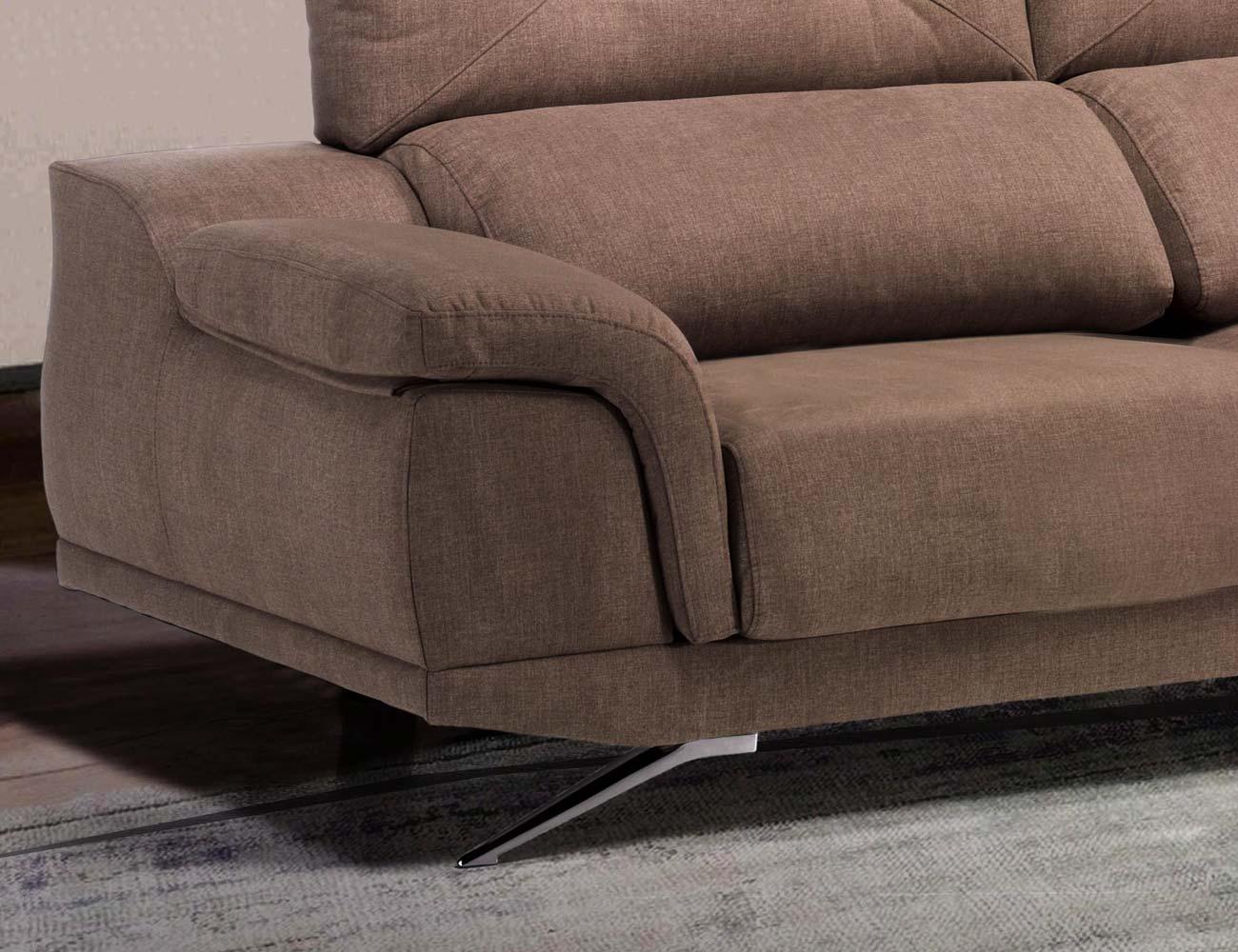 Sofa chaiselongue florencia detalle