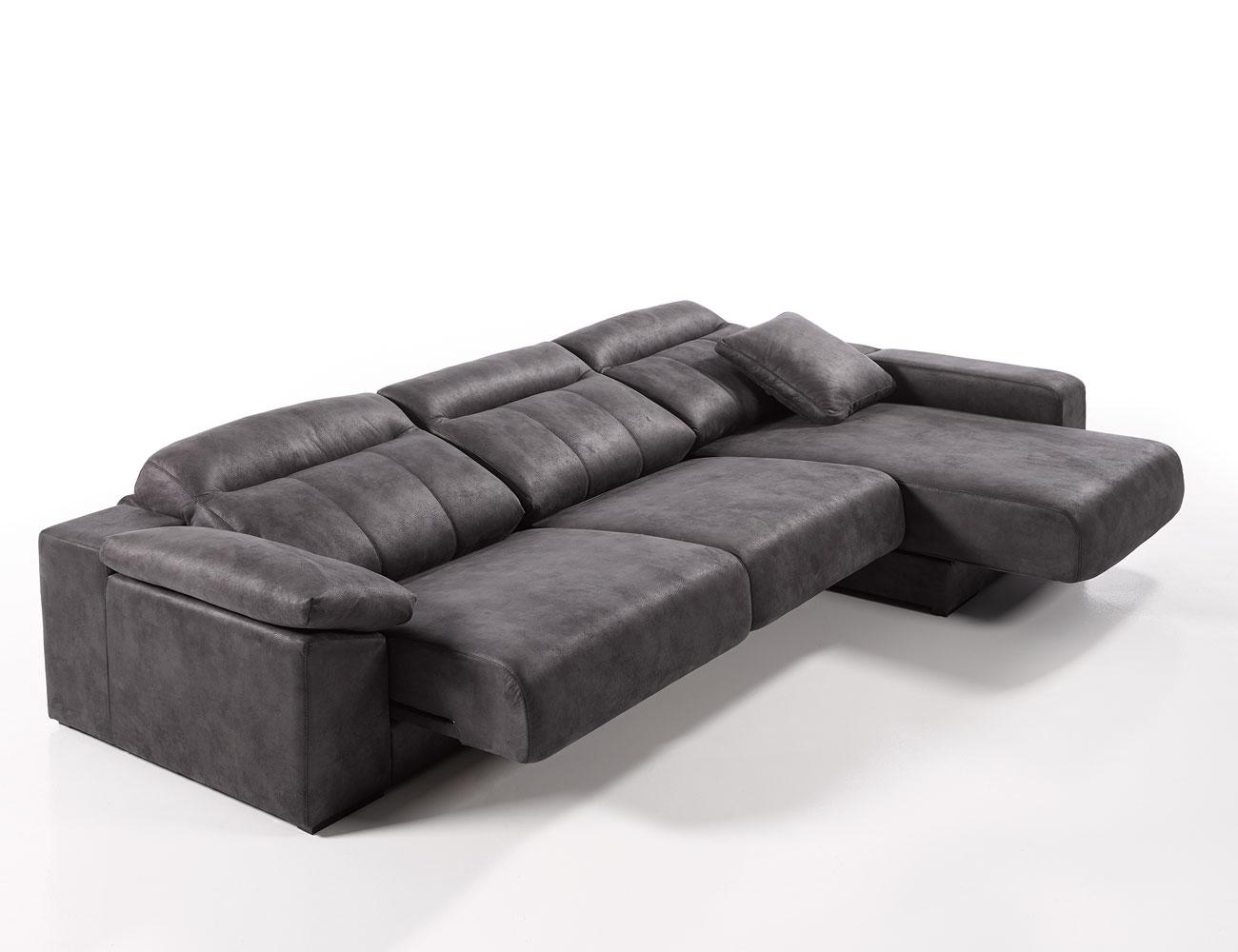 Sofa chaiselongue gama alta deslizante