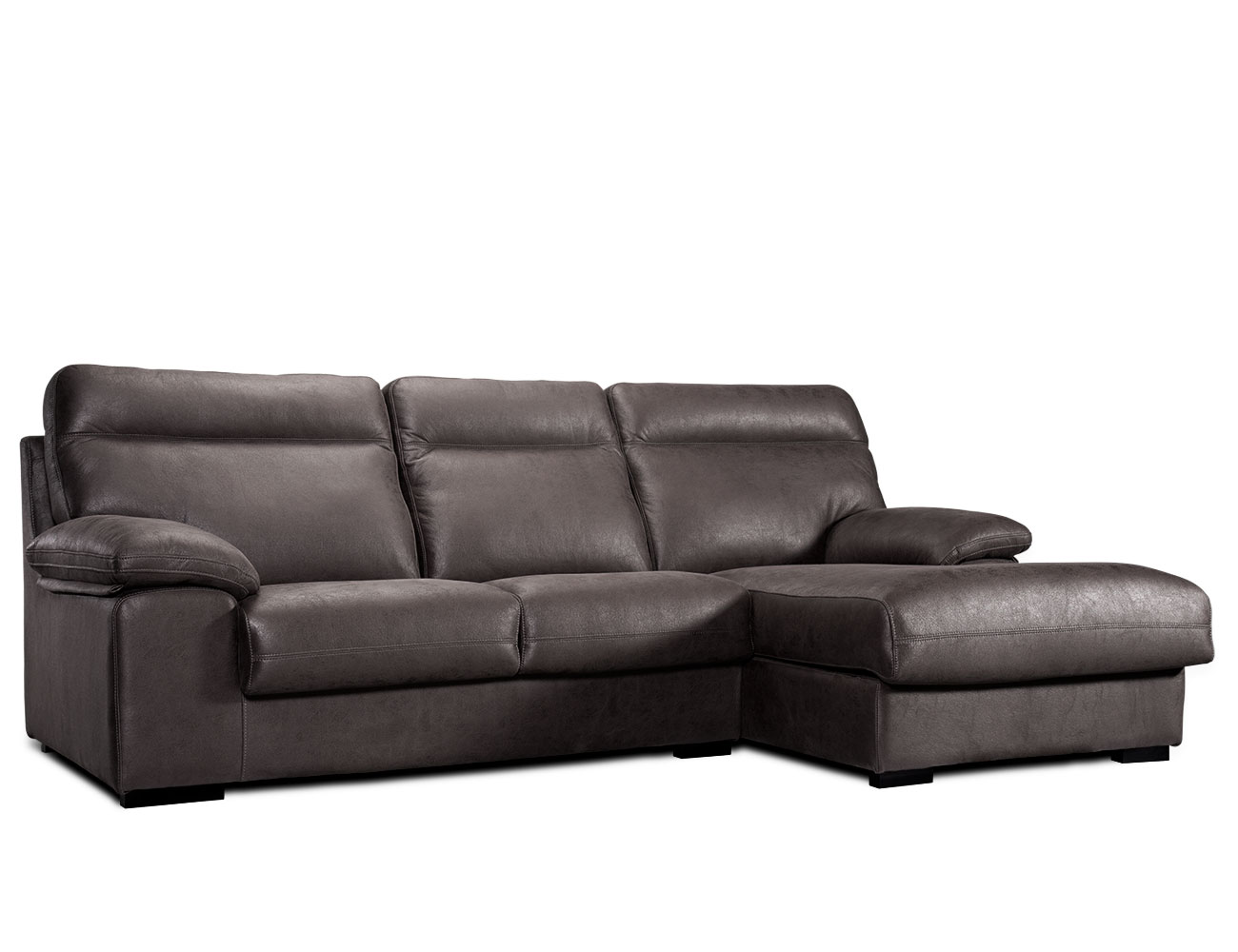 Sofa chaiselongue gran confort tejido antimanchas