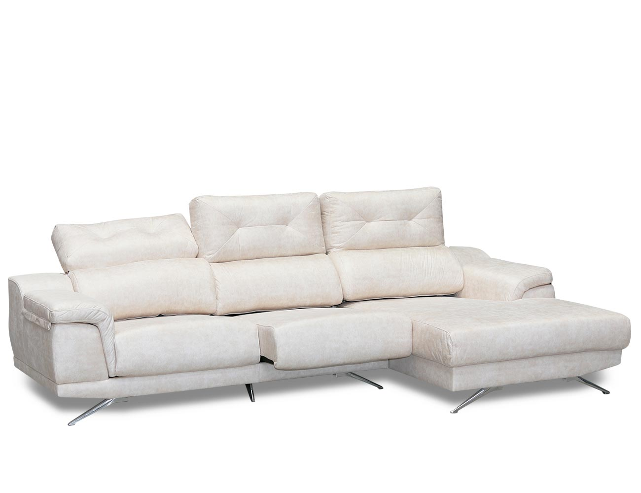 Sofa chaiselongue moderno anti manchas