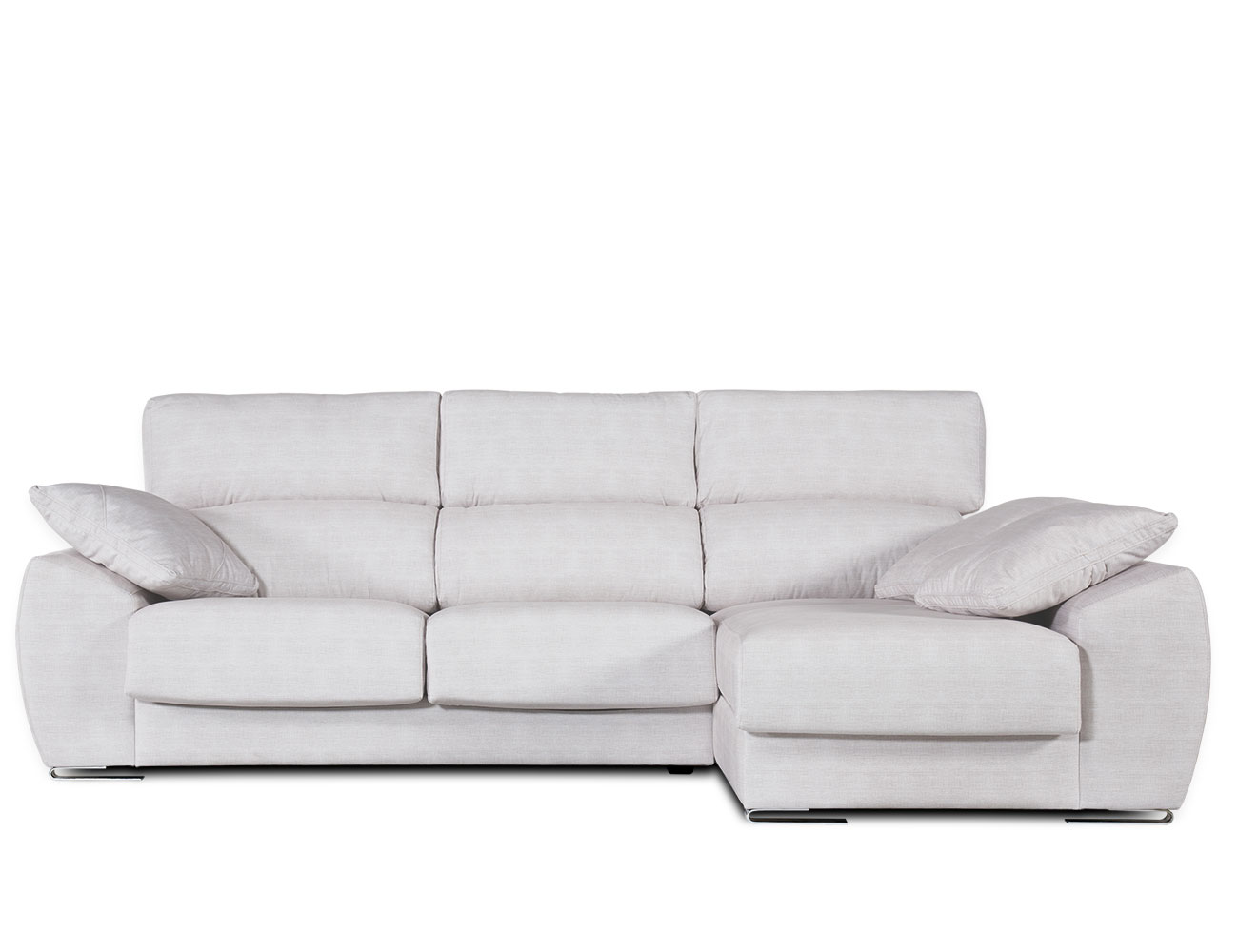 Sofa chaiselongue moderno blanco