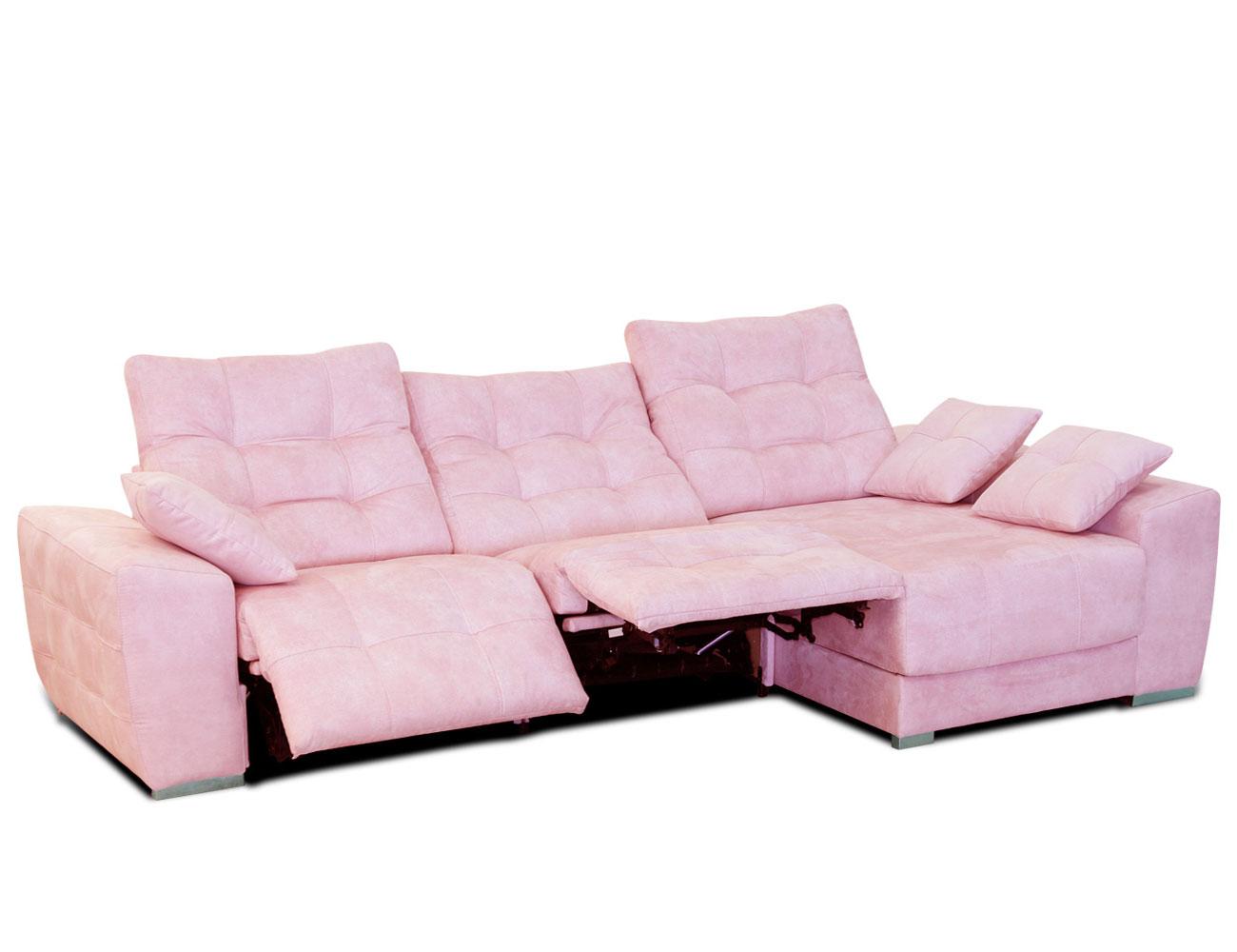 Sofa chaiselongue moderno capitone danesa pink 4