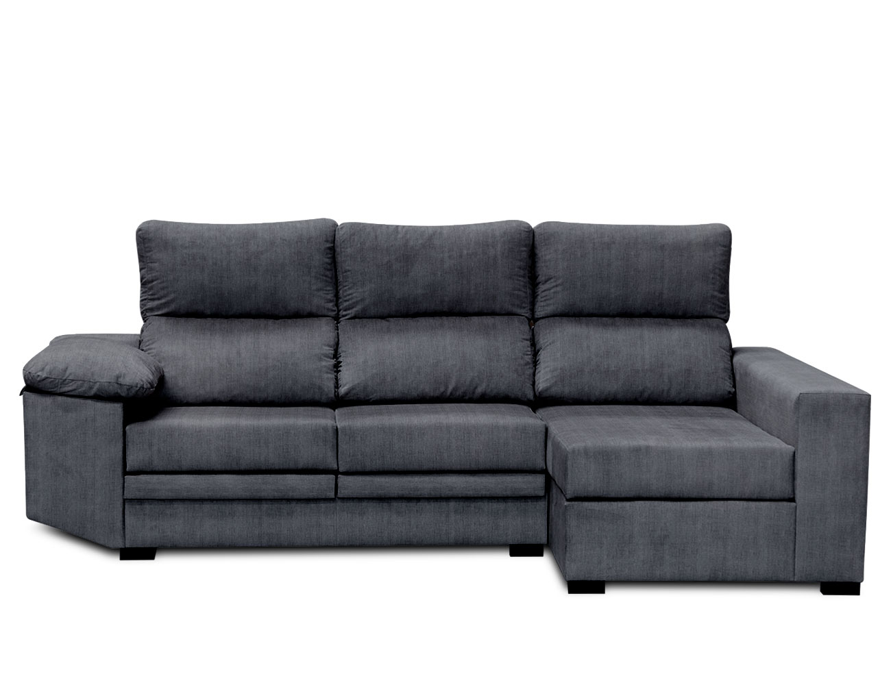 Sofa chaiselongue moderno ceniza 1
