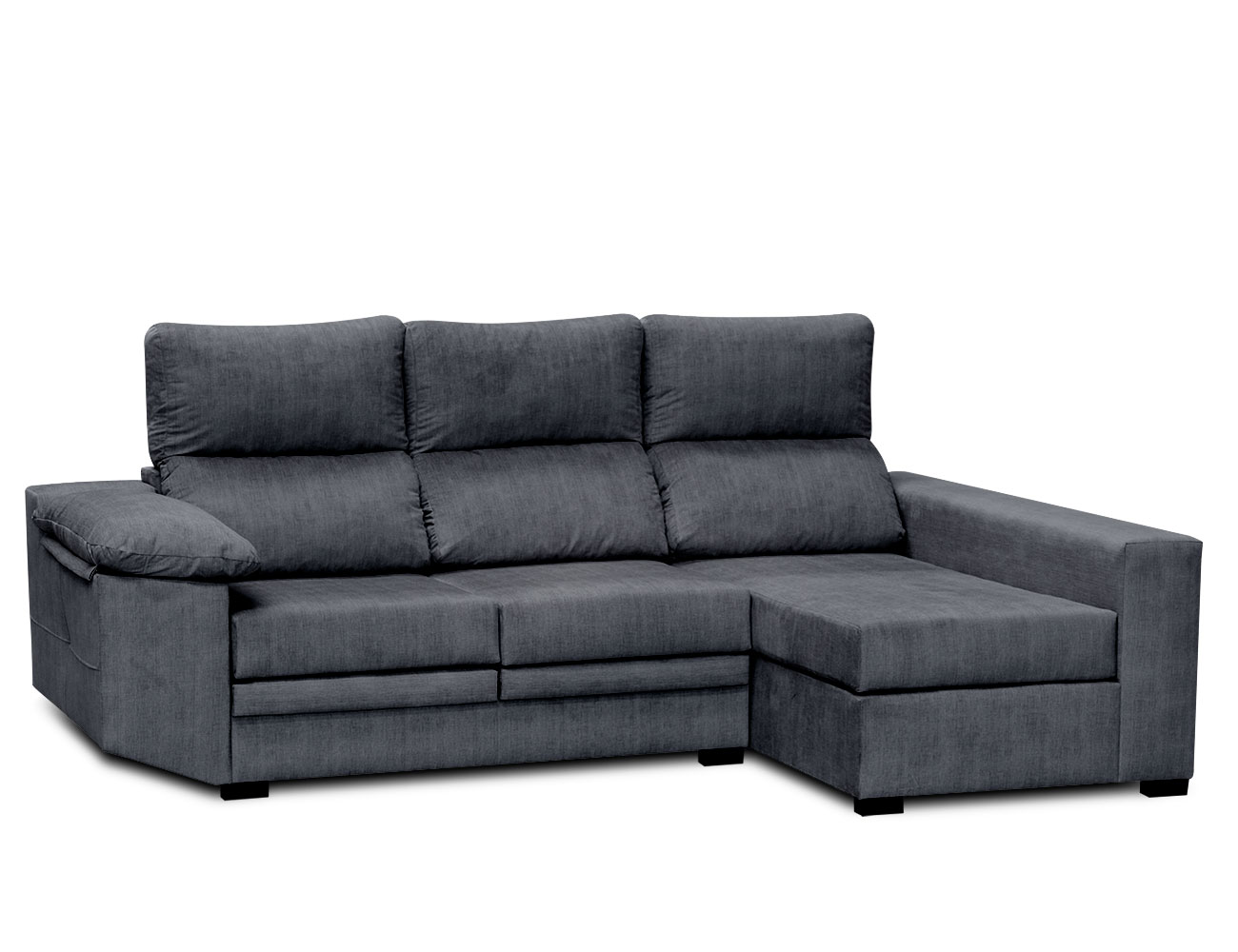 Sofa chaiselongue moderno ceniza 3
