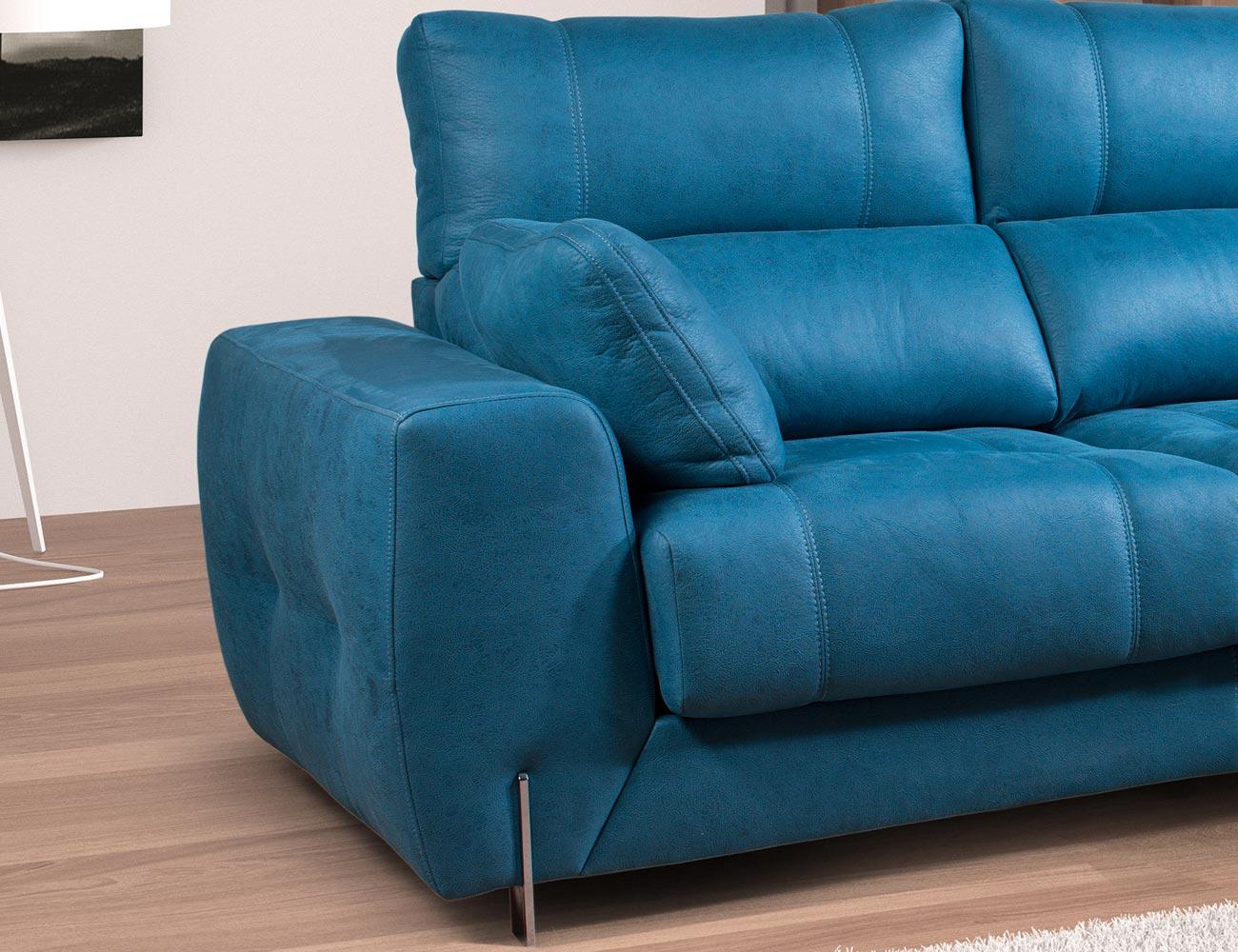 Sofa chaiselongue moderno exclusivo detalle 2