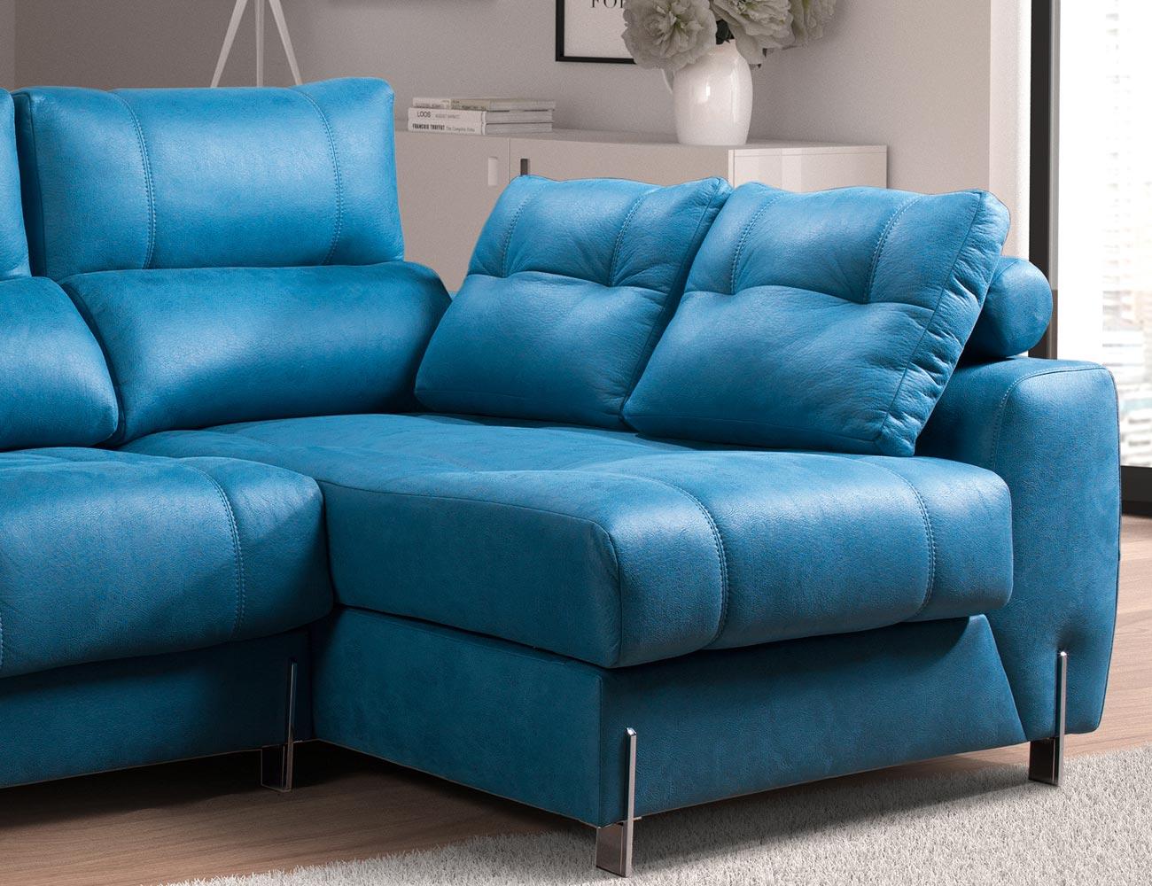 Sofa chaiselongue moderno exclusivo detalle 3