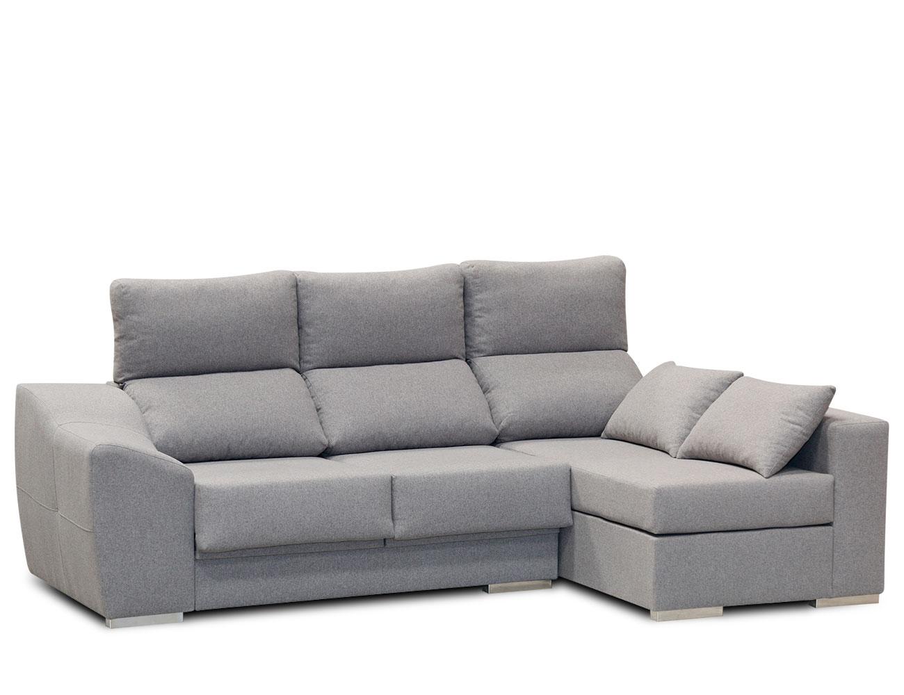 Sofa chaiselongue moderno gris 41