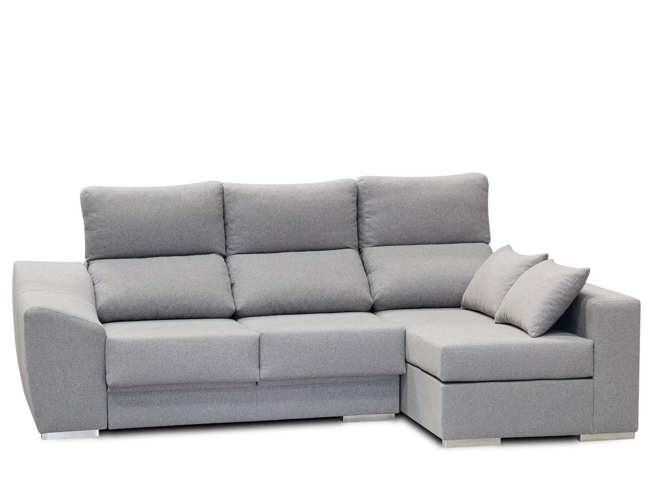 Sofa chaiselongue moderno gris 6