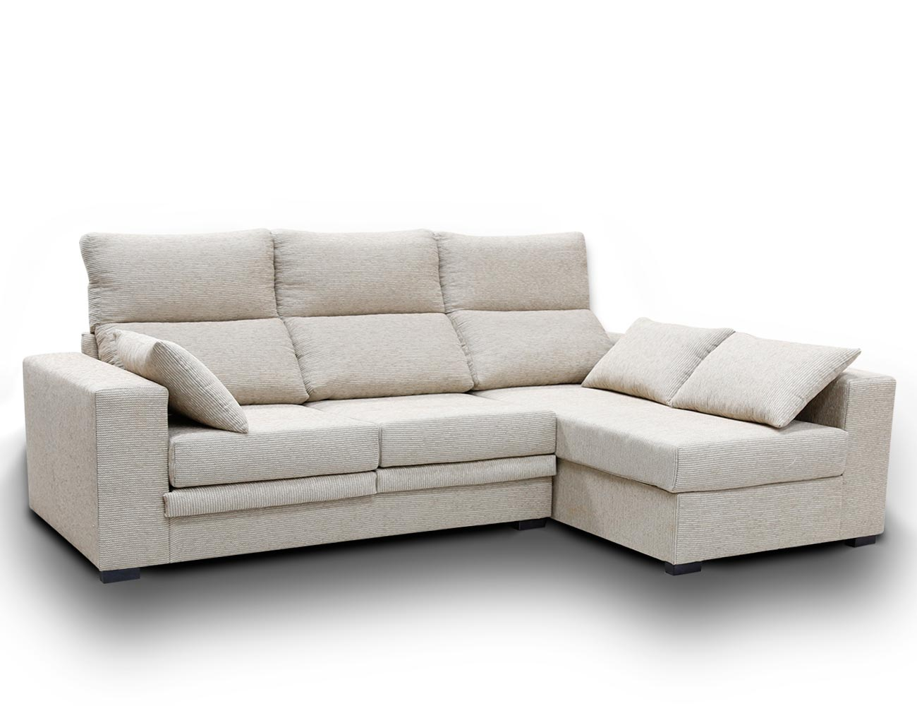 Sofa chaiselongue pardo 1