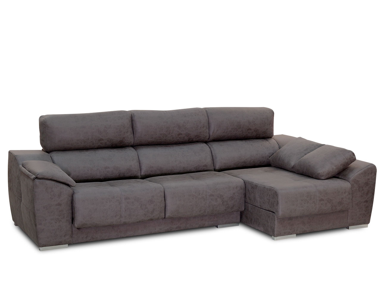 Sofa chaiselongue pared 0 magnolia plomo 1
