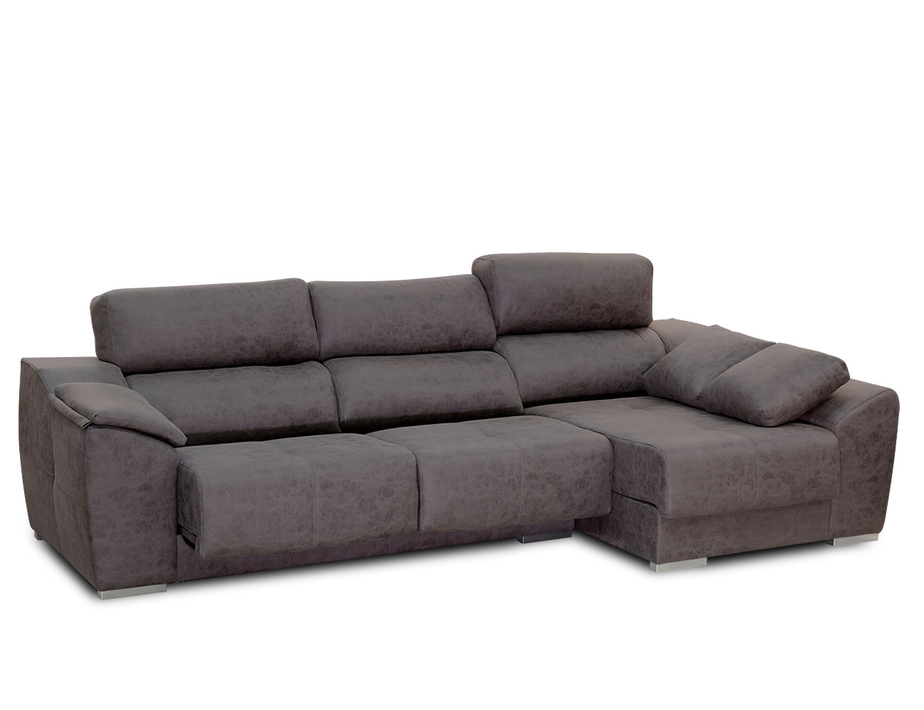 Sofa chaiselongue pared 0 magnolia plomo 3