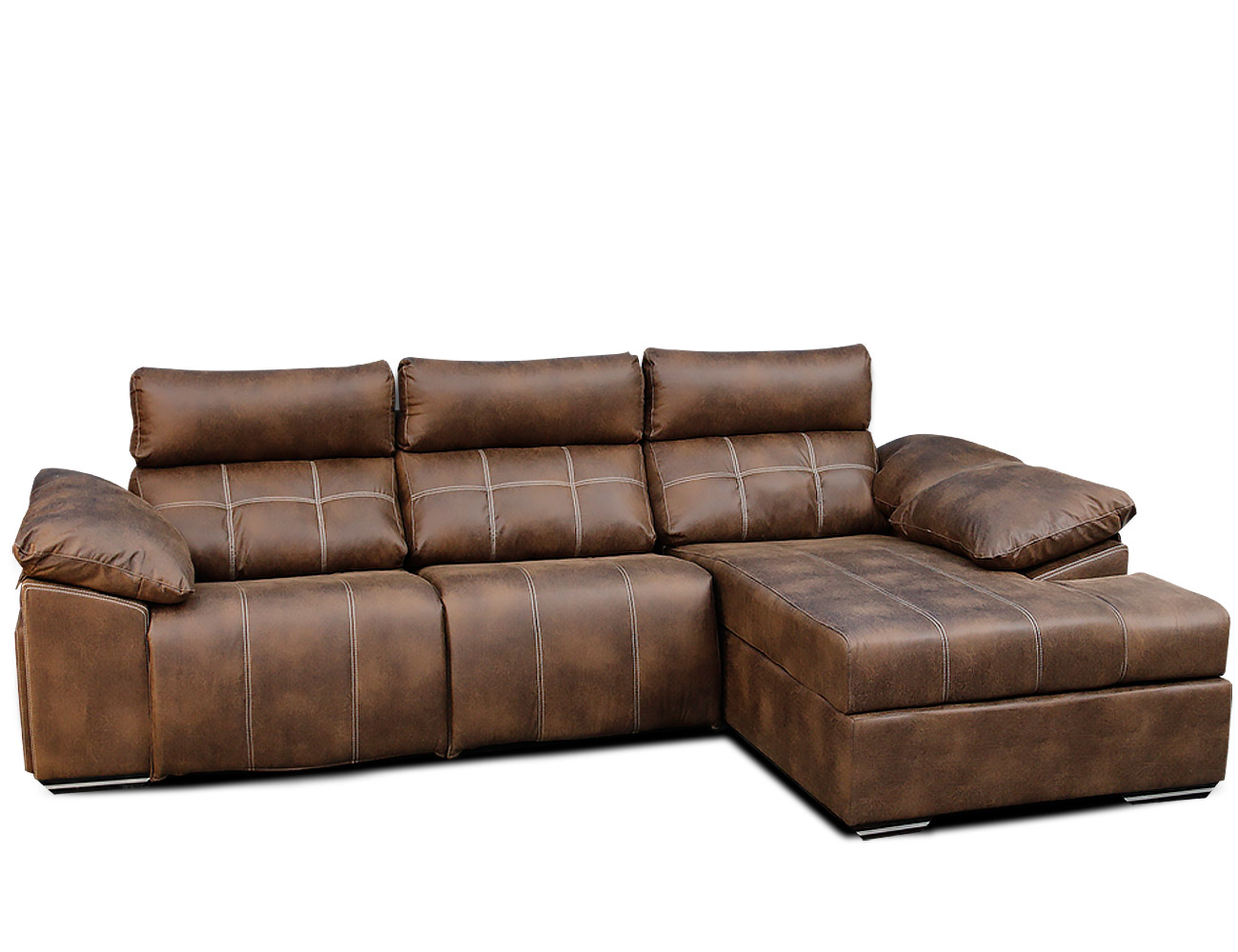 Sofa chaiselongue relax electrico 2 motores