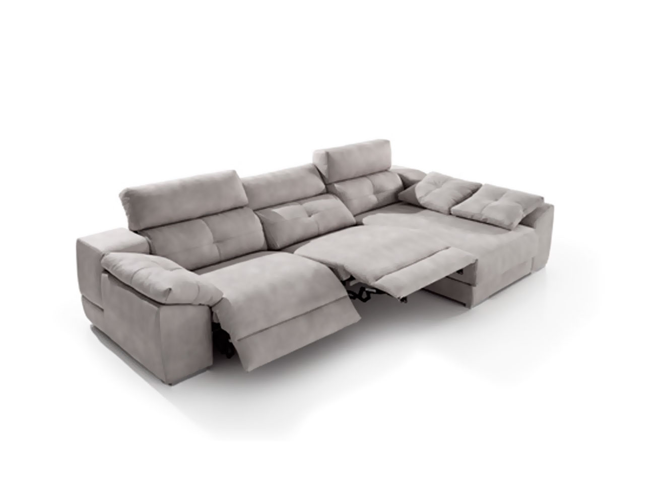 Sofa chaiselongue relax motor acomodel arcon detalle