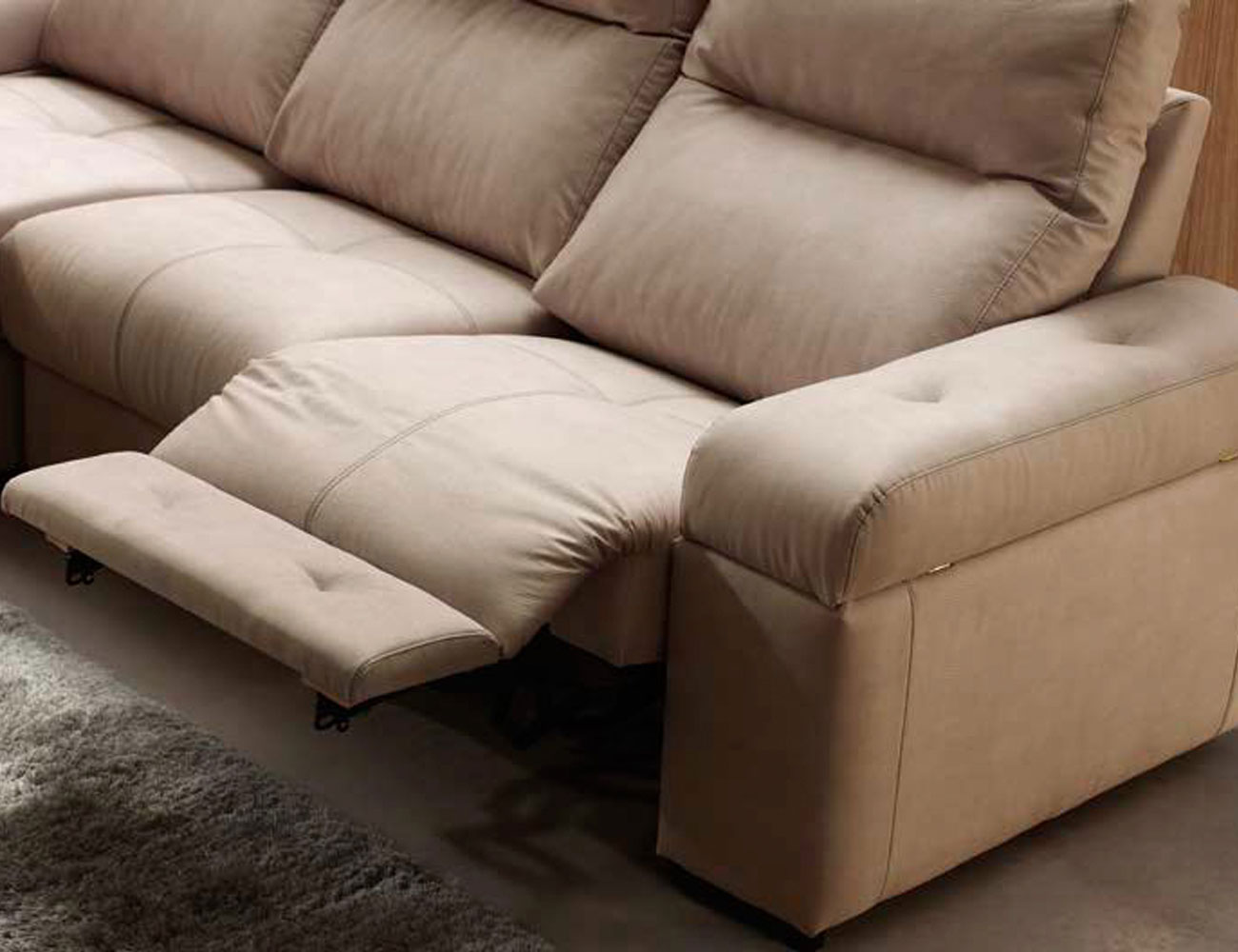 Sofa chaiselongue relax motor electrico 3 arcon 1 detalle