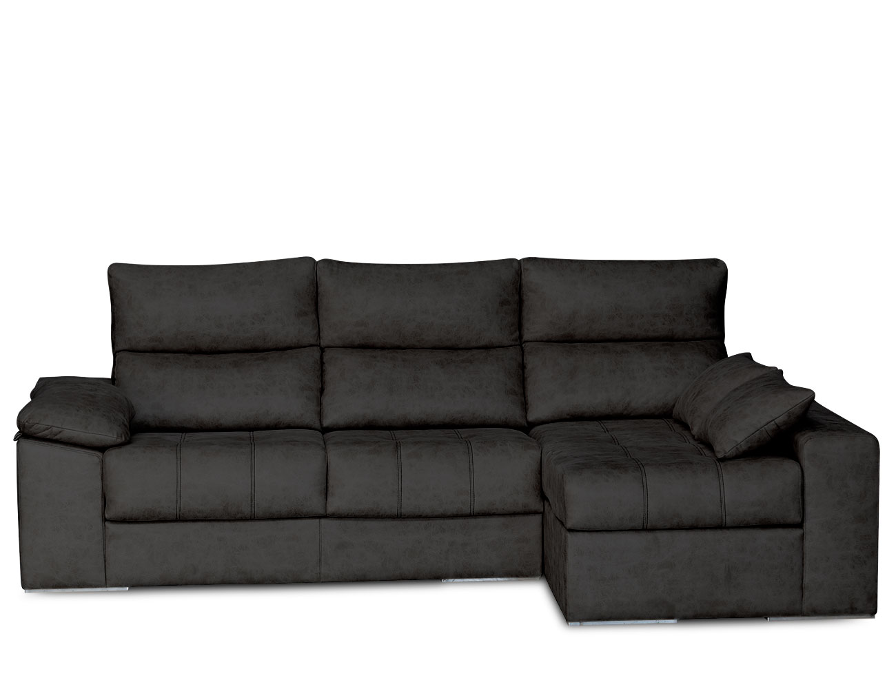 Sofa chaiselongue surf negro 3